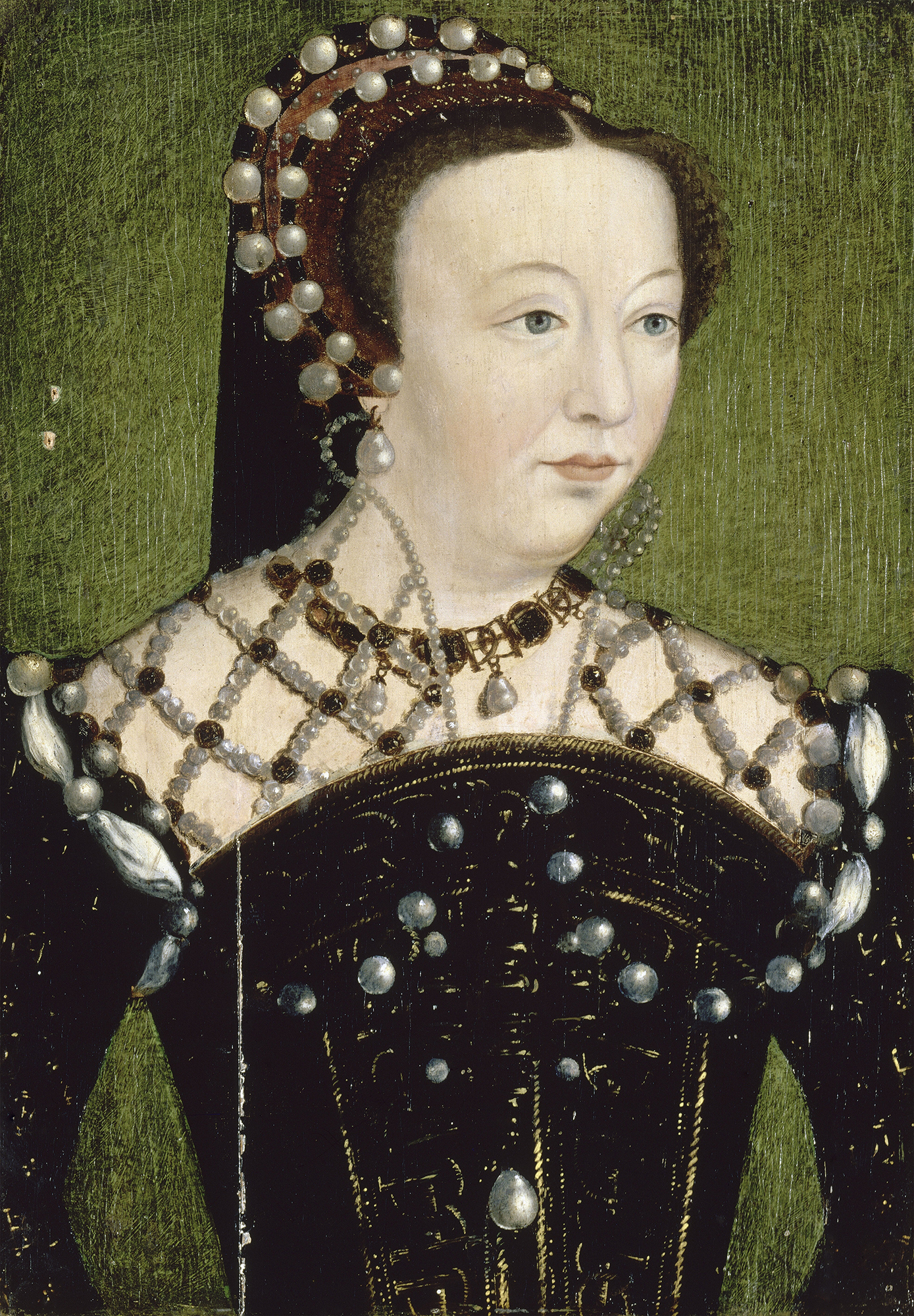 Portrait of Catherine de' Medici (1519-1589), Duchess of Orléans (1533-1536), Dauphine of France (1536-1547), Queen consort of France (1547-1559), Regent of France (1560-1563) | Portraits of Kings