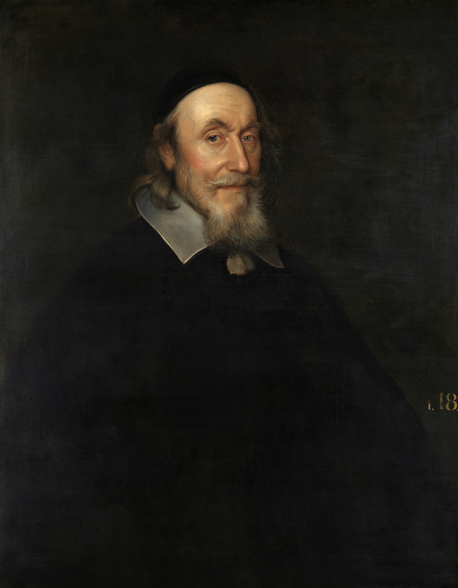 Portrait of Axel Oxenstierna (1583-1654), Count of Södermöre (1645), Lord High Chancellor of Sweden (Swedish: Rikskansler) from 1612 to 1654, de facto Regent of Sweden (1632-1644), 1651 | Portraits of Kings