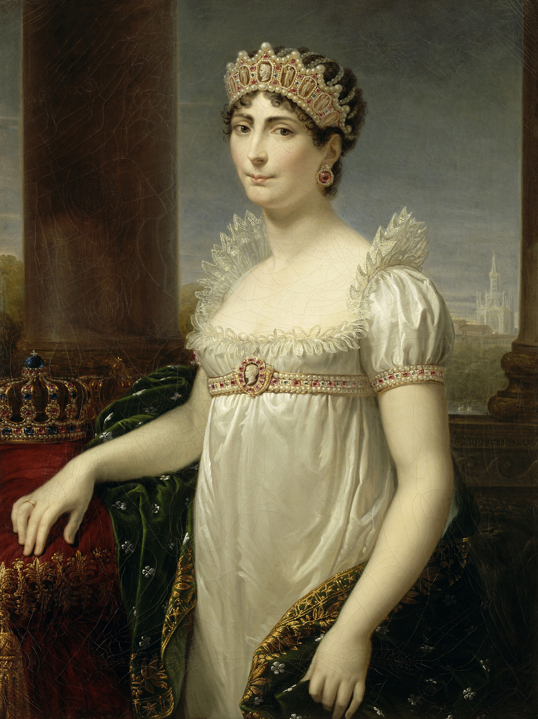 Portrait of Joséphine (1763-1814), Empress consort of the French (1804-1809), Queen consort of Italy (1805-1809), Duchess of Navarre (1810), 1804 | Portraits of Kings