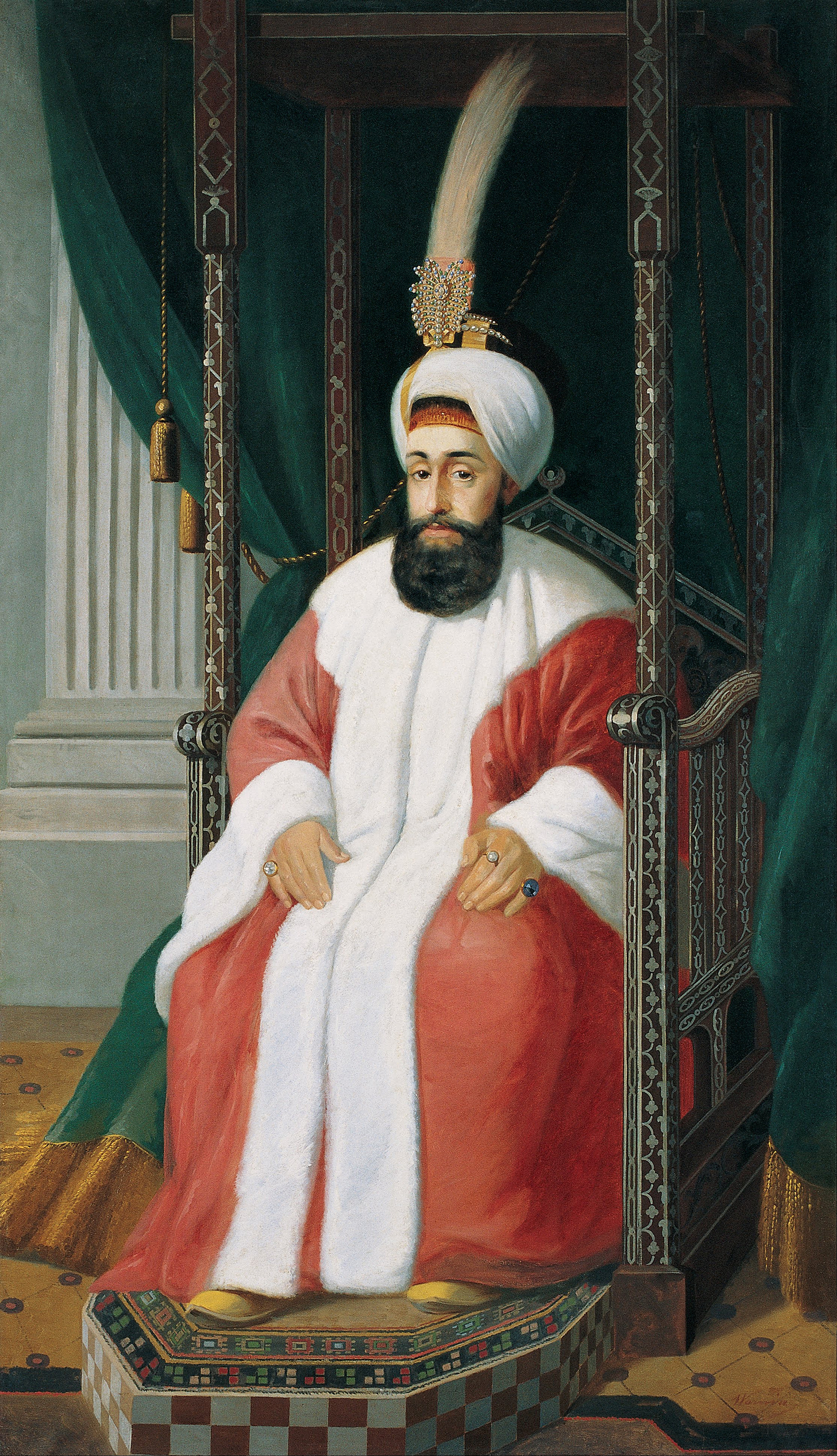 Portrait of Selim III (1761-1808), Sultan of the Ottoman Empire (1789-1807) | Portraits of Kings