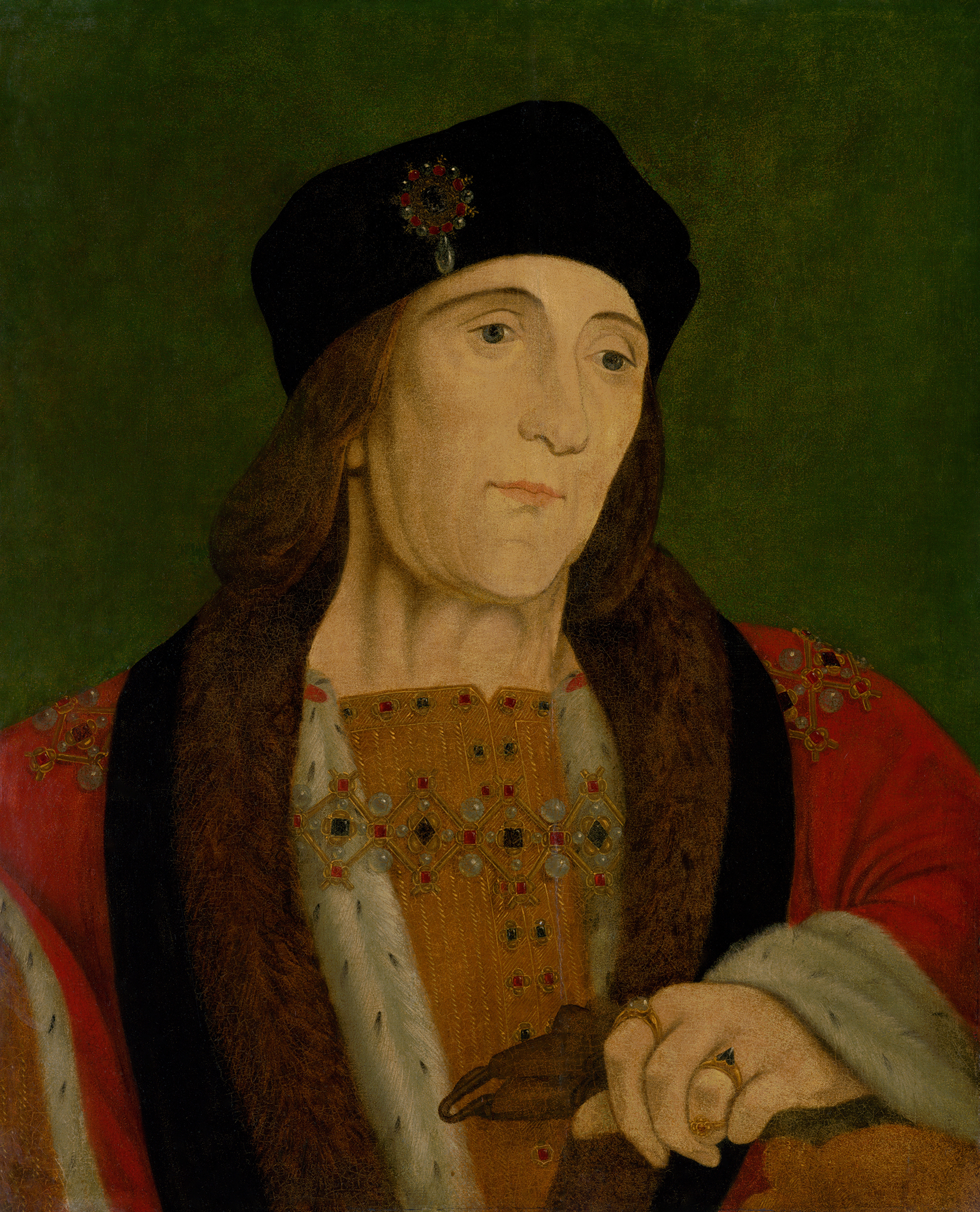 Portrait of Henry VII (1457-1509), King of England, Lord of Ireland (1485-1509) | Portraits of Kings
