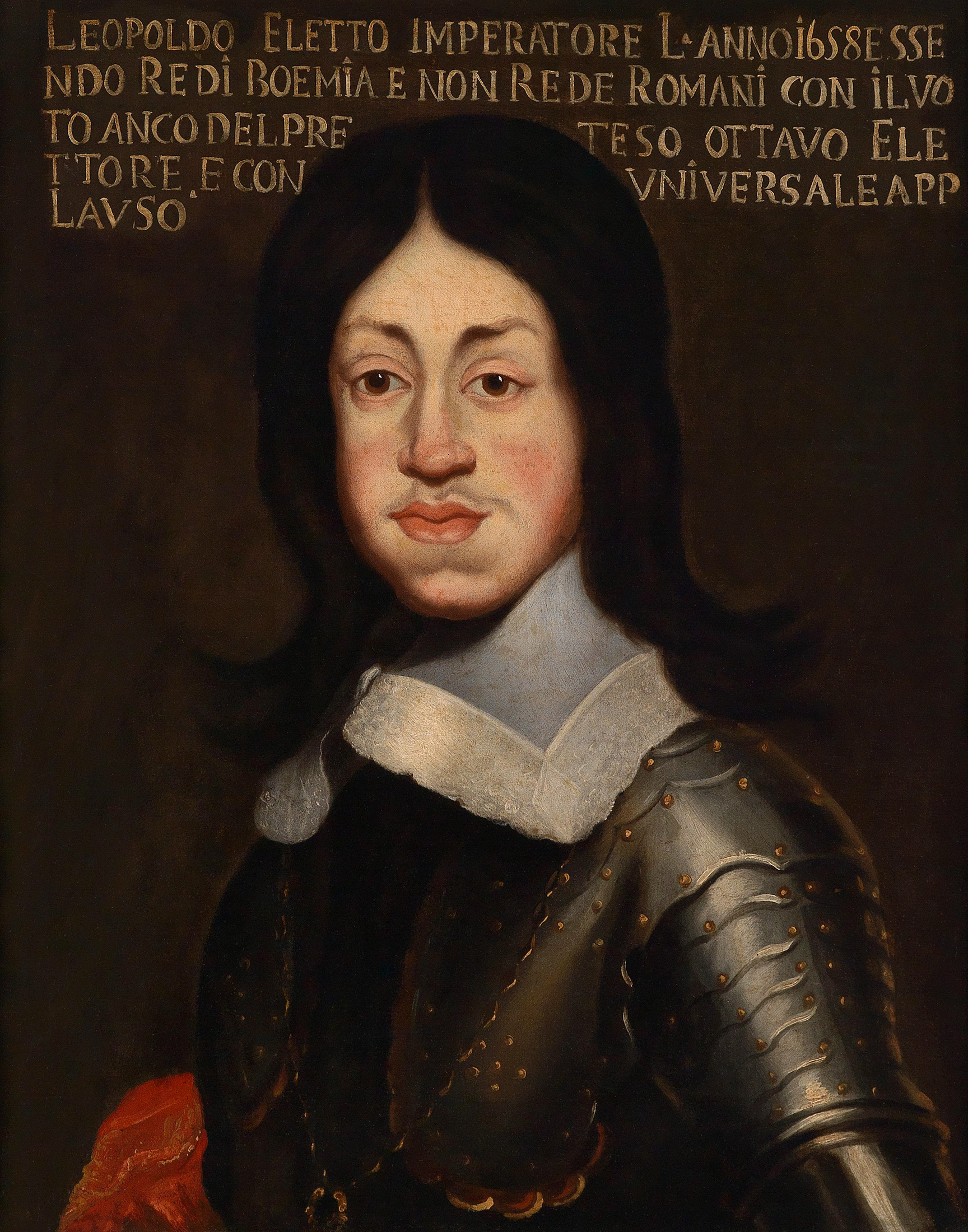 Portrait of Leopold I (1640-1705), Holy Roman Emperor (1658), King of Hungary and Bohemia, Archduke of Austria (1657-1705) | Portraits of Kings
