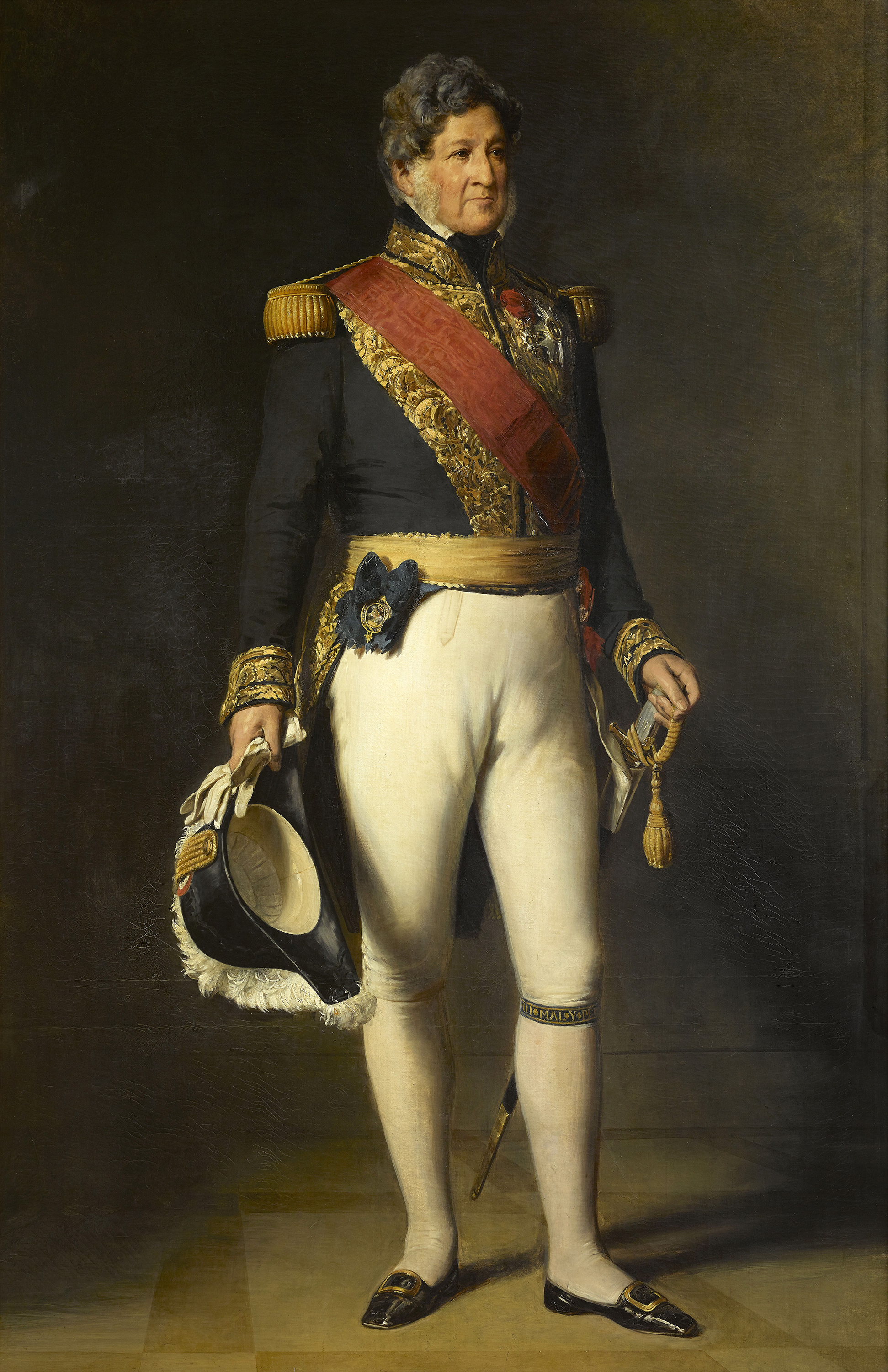 Portrait of Louis Philippe I (1773-1850), King of the French (1830-1848), Duke of Orléans (Louis Philippe III) from 1814 to 1830, 1846 | Portraits of Kings