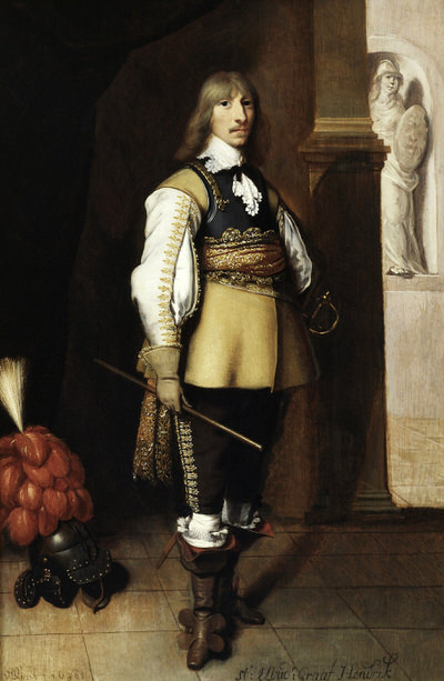 Portrait of Henry Casimir I (1612-1640), Count of Nassau-Dietz and Stadtholder of Friesland, Groningen and Drenthe (1632-1640), 1638 | Portraits of Kings