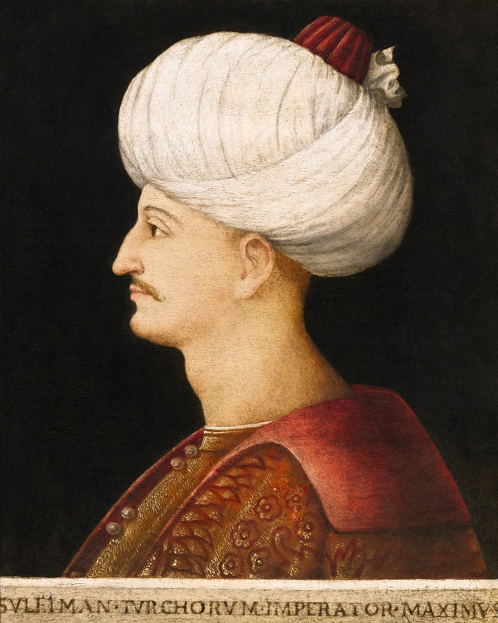 Portrait of Suleiman I (1494-1566), Sultan of the Ottoman Empire (1520-1566) | Portraits of Kings