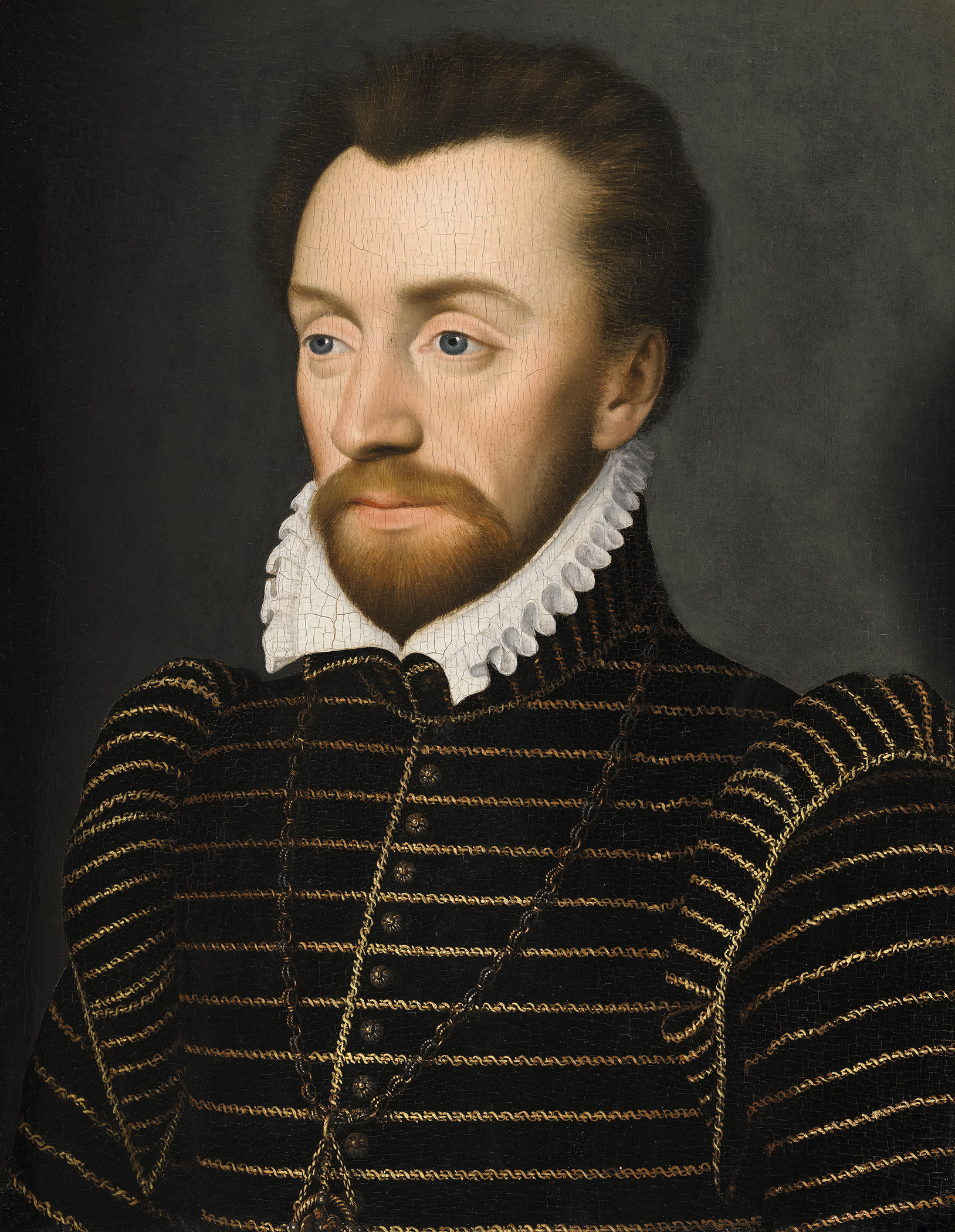 Portrait of Louis de Bourbon (1530-1569), Prince du sang, Prince of Condé (1546-1569), Huguenot leader and general (1562-1569) | Portraits of Kings