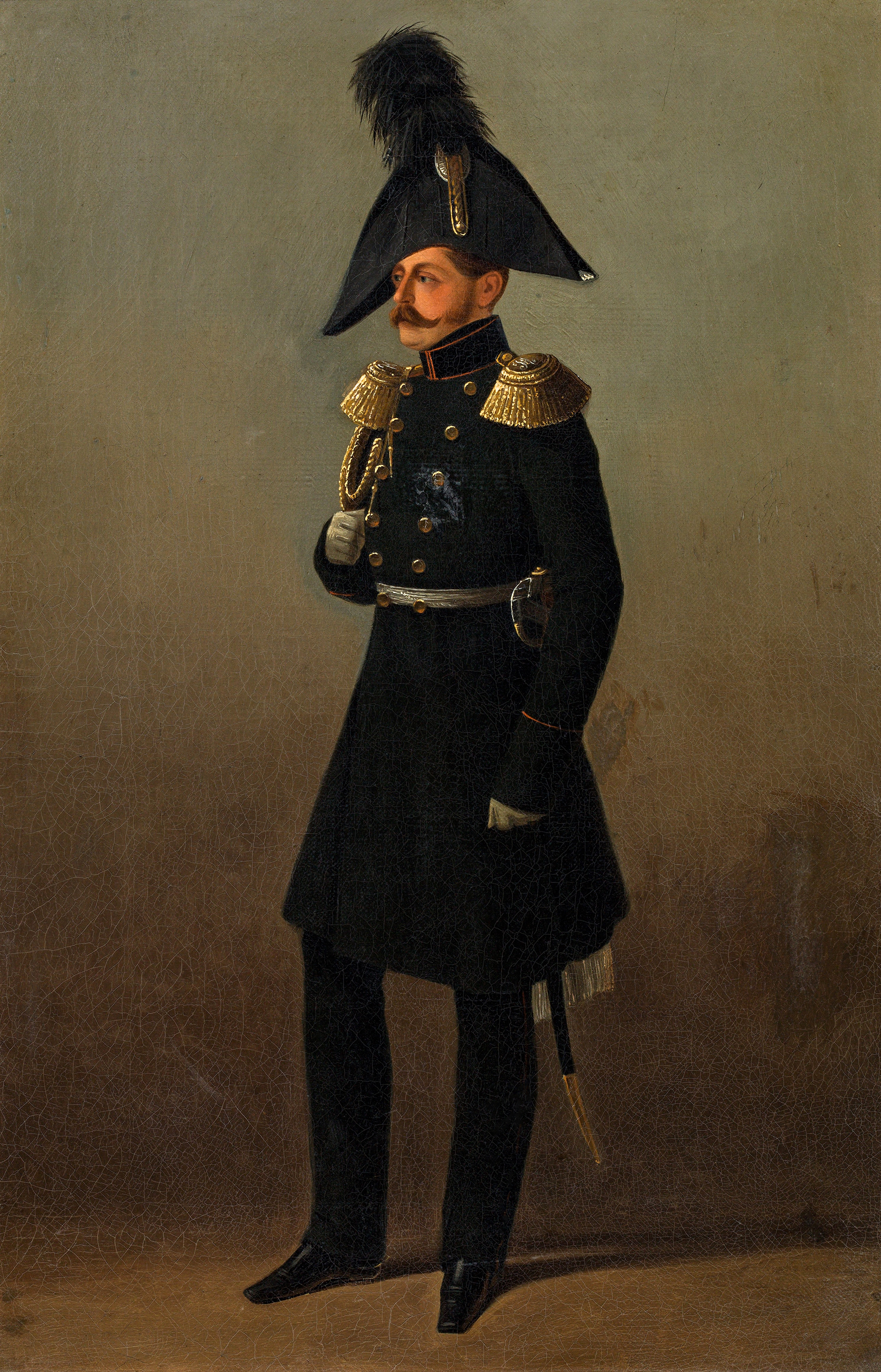 Portrait of Michael Pavlovich (1798-1849), Grand Duke of Russia; chief of artillery (Russian: генерал-фельдцейхмейстер), Inspector General of the Engineer Troops (1825), Commander-in-Chief of the Guards and Grenadier Corps (1844) | Portraits of Kings