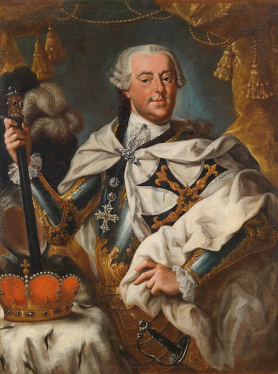 Portrait of Charles Alexander of Lorraine (1712-1780), Prince; Field marshal of the Imperial Army (1740), Governor of the Austrian Netherlands (1744-1780), Grand Master of the Teutonic Order (1761-1780), 1761 | Portraits of Kings