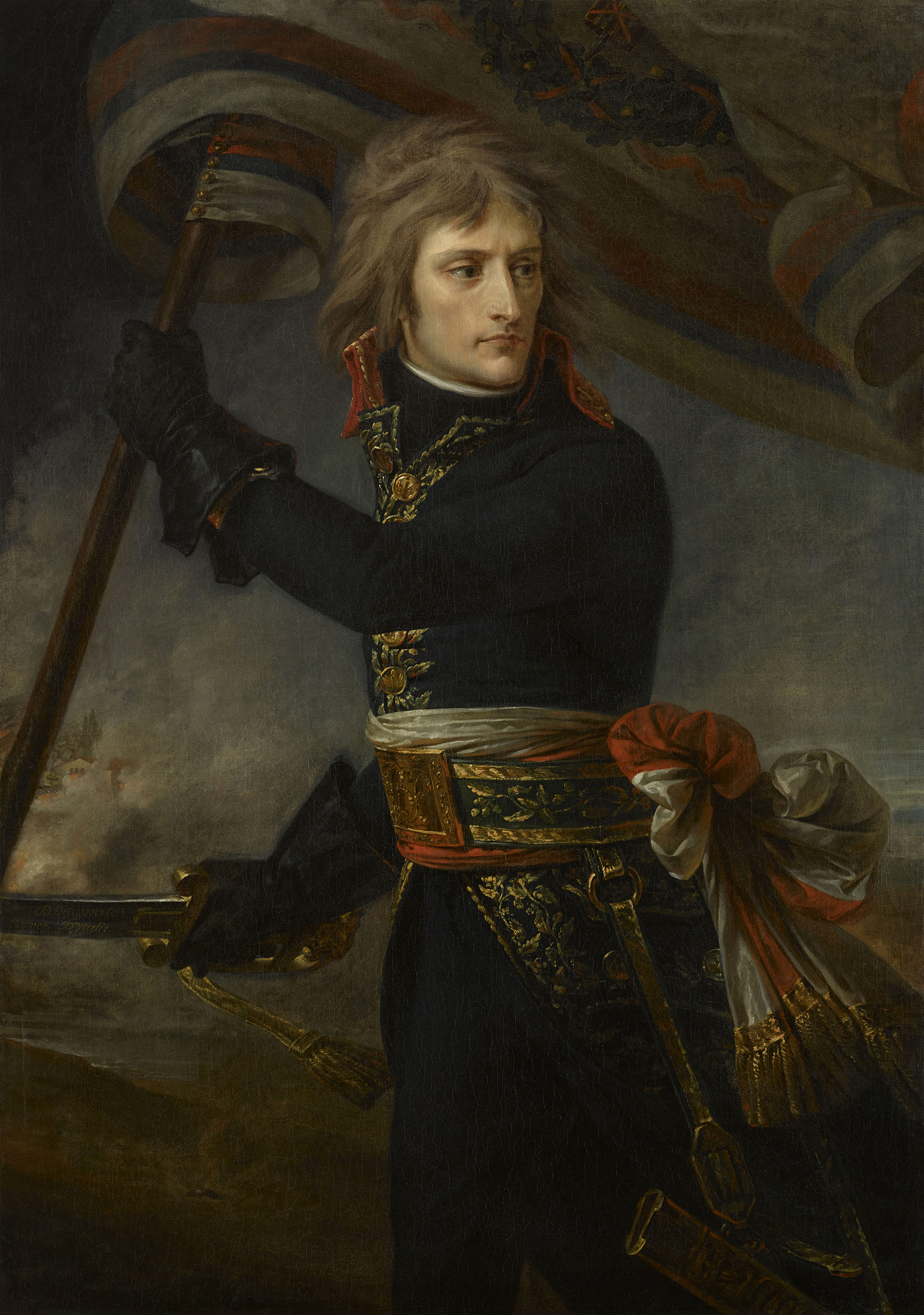 Portrait of Napoléon Bonaparte (1769-1821), Divisional general (1795), First Consul of the French Republic (1799-1804), Emperor of the French (1804-1814; 1815), King of Italy (1805-1814), Mediator of the Swiss Confederation (1803-1813), Protector of the Confederation of the Rhine (1806-1813), Sovereign of the Island of Elba (1814-1815), 1796 | Portraits of Kings