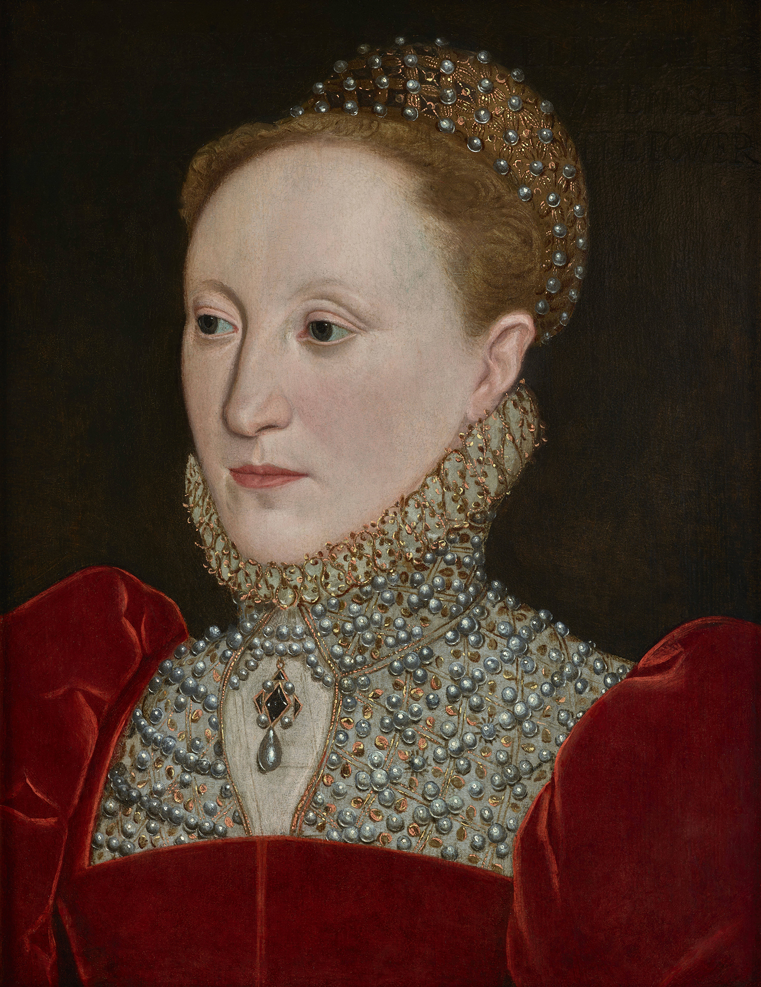 Portrait of Elizabeth I (1533-1603), Queen of England and Ireland (1558-1603), 1561 | Portraits of Kings