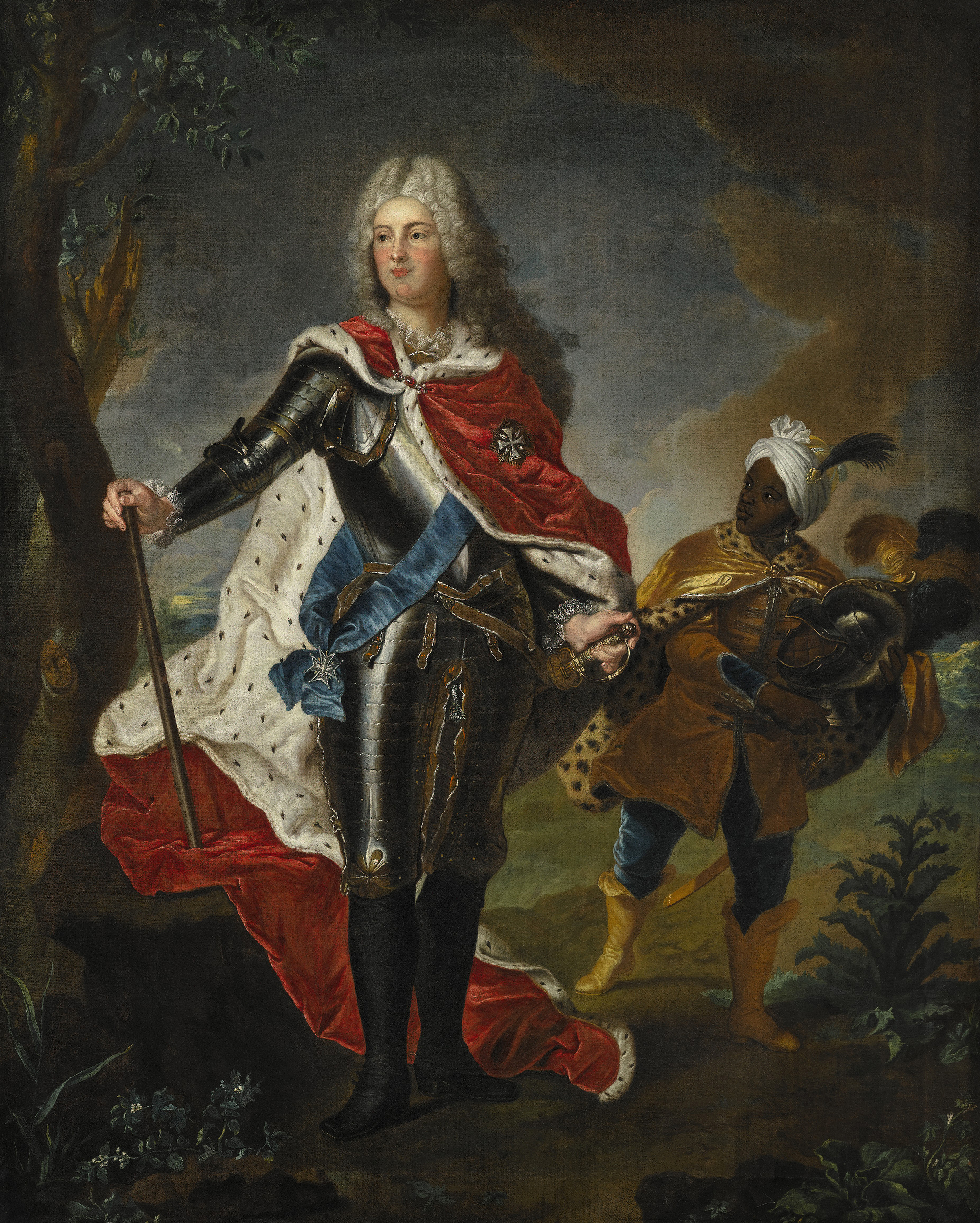 Portrait of Frederick Augustus of Saxony (1696-1763), Crown Prince of Saxony (German: Kurprinz von Sachsen) until 1733; Elector of Saxony (Frederick Augustus II) from 1733 to 1763; King of Poland and Grand Duke of Lithuania (Augustus III) from 1734 to 1763 | Portraits of Kings