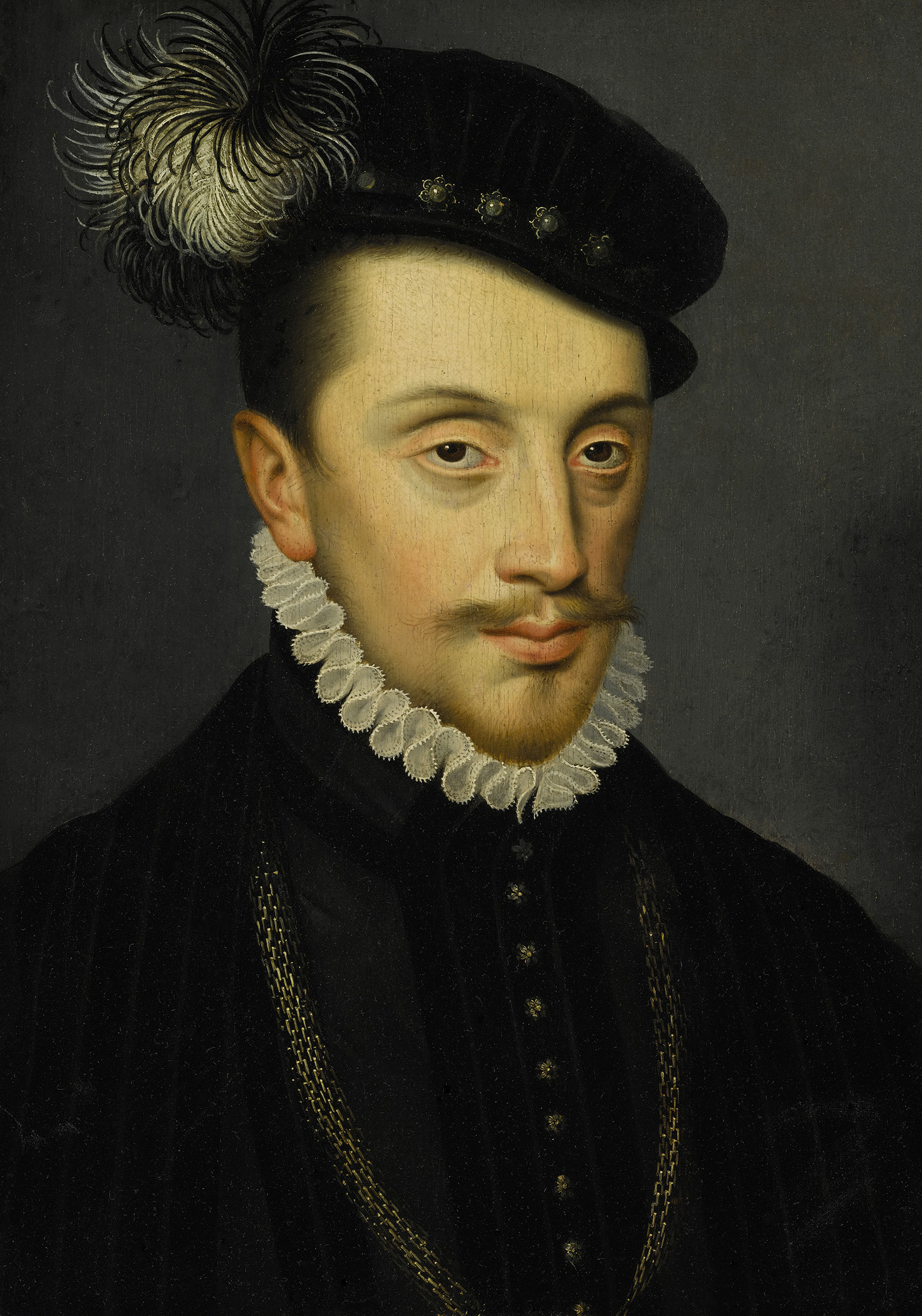 Portrait of Charles III (1543-1608), Duke of Lorraine and Bar, Marquis of Pont-à-Mousson (1545-1608), Regency (1545-1559), 1572 | Portraits of Kings