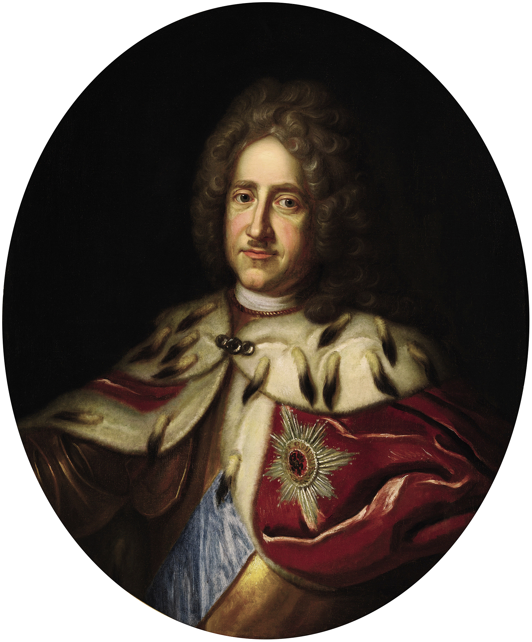 Portrait of Frederick I (1657-1713), King in Prussia (1701-1713), Elector of Brandenburg (as Frederick III) from 1688 to 1713; Duke of Prussia (1688-1701), Prince of Neuchâtel (1707) | Portraits of Kings