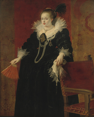 Portrait of Anna of Tyrol (1585-1618), Holy Roman Empress, Queen of the Germans (1612-1618), Queen of Hungary and Bohemia (1611-1618) | Portraits of Kings