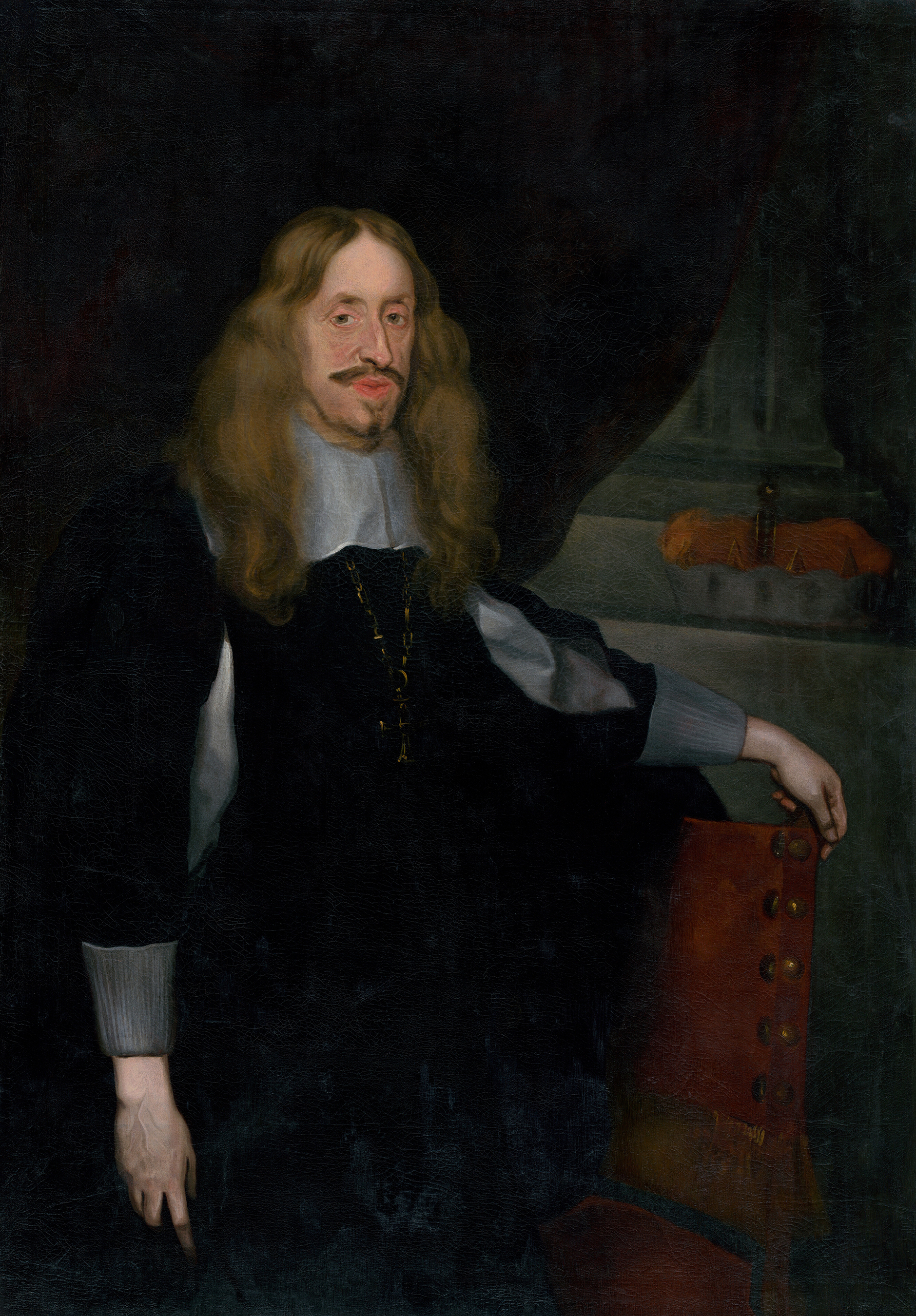 Portrait of Leopold Wilhelm of Austria (1614-1662), Archduke; Governor of the Spanish Netherlands (1647-1656), Reichsgeneralfeldmarschall (1639), Grand Master of the Teutonic Order (1641), Prince-Bishop of Halberstadt (1628-1648), Prince-Bishop of Passau (1625), Prince-Bishop of Strasbourg (1628), Prince-Bishop of Olmütz (1637), 1650 | Portraits of Kings