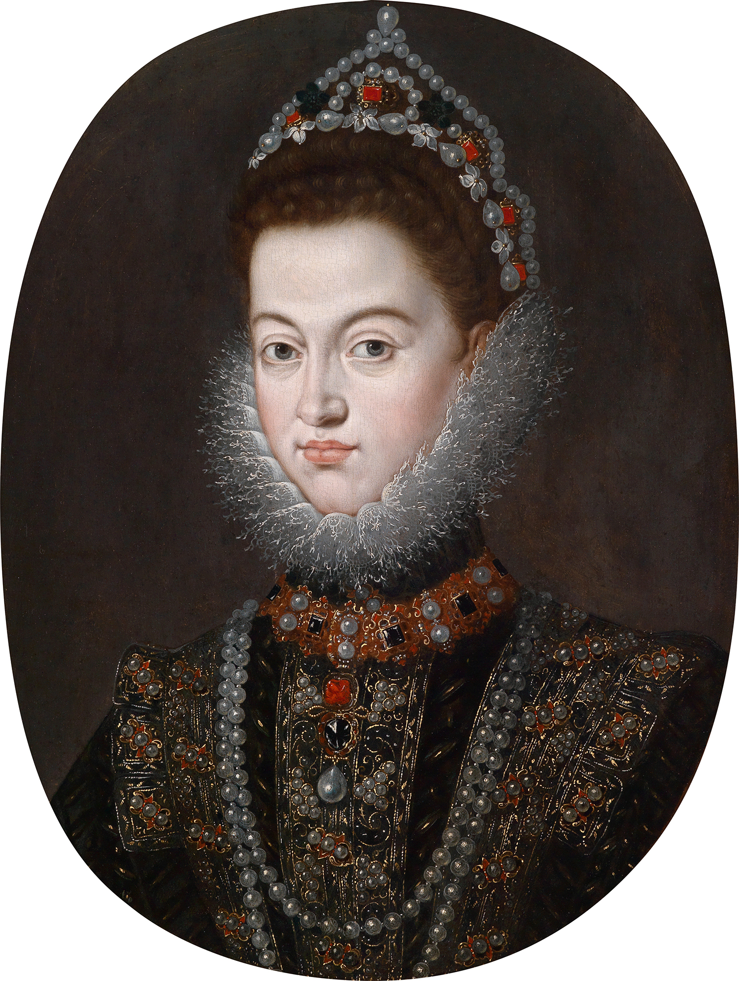Portrait of Isabella Clara Eugenia (1566-1633), Sovereign of the Netherlands (with Albert of Austria) from 1598 to 1621; Governor of the Spanish Netherlands (1621-1633) | Portraits of Kings