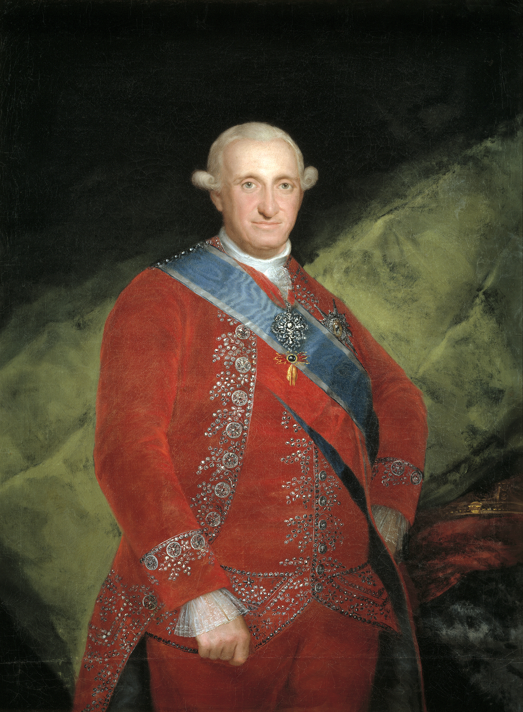 Portrait of Charles IV (1748-1819), King of Spain (1788-1808), Prince of Asturias (1759-1788), 1789 | Portraits of Kings