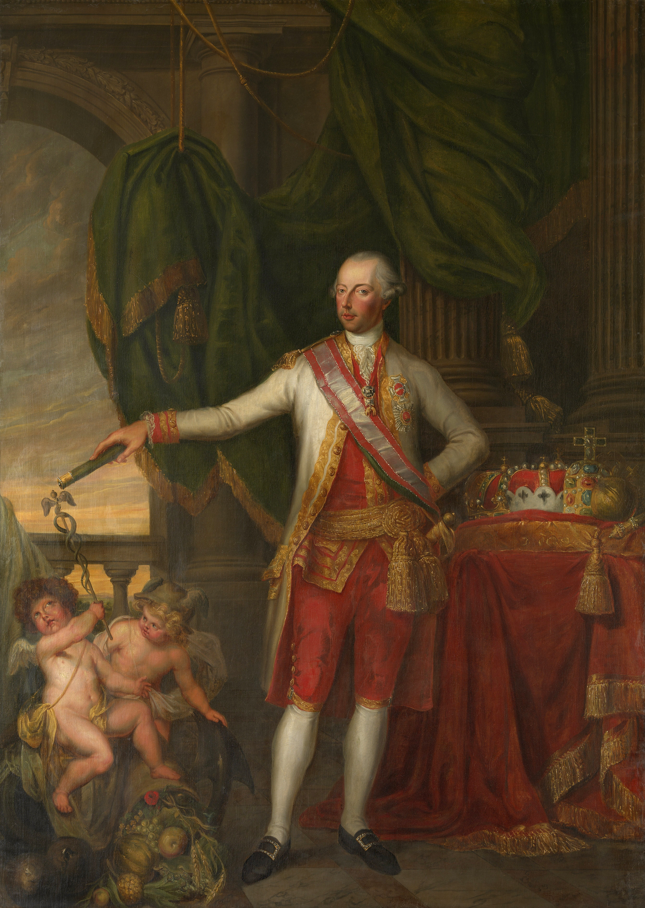 Portrait of Joseph II (1741-1790), Holy Roman Emperor (1765-1790); Archduke of Austria, King of Hungary and Bohemia (1780-1790) | Portraits of Kings