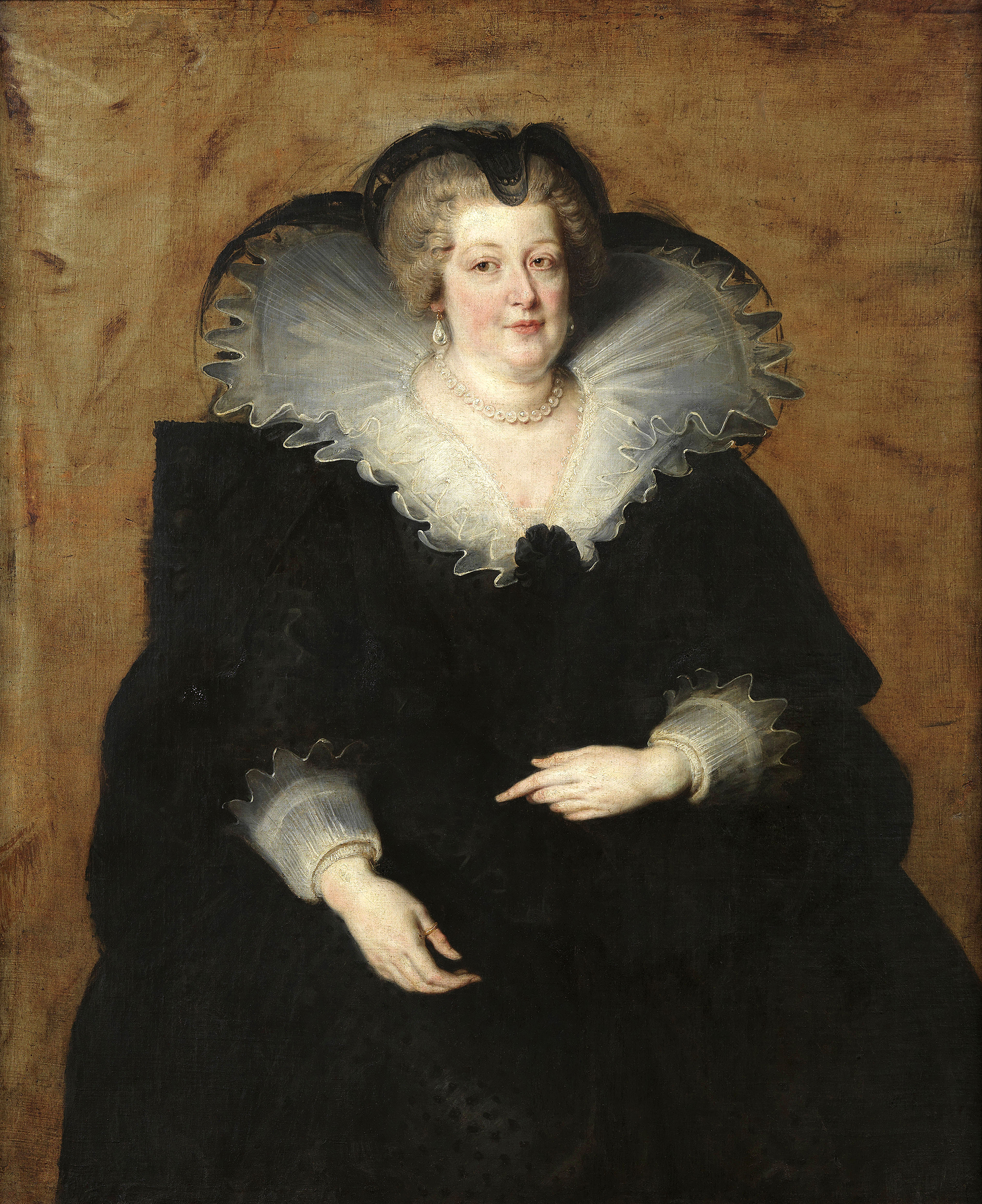 Portrait of Marie de' Medici (1575-1642), Queen consort of France and Navarre (1600-1610), Regent of the Kingdom of France (1610-1614), Head of the Royal Council (1614-1617), 1622 | Portraits of Kings