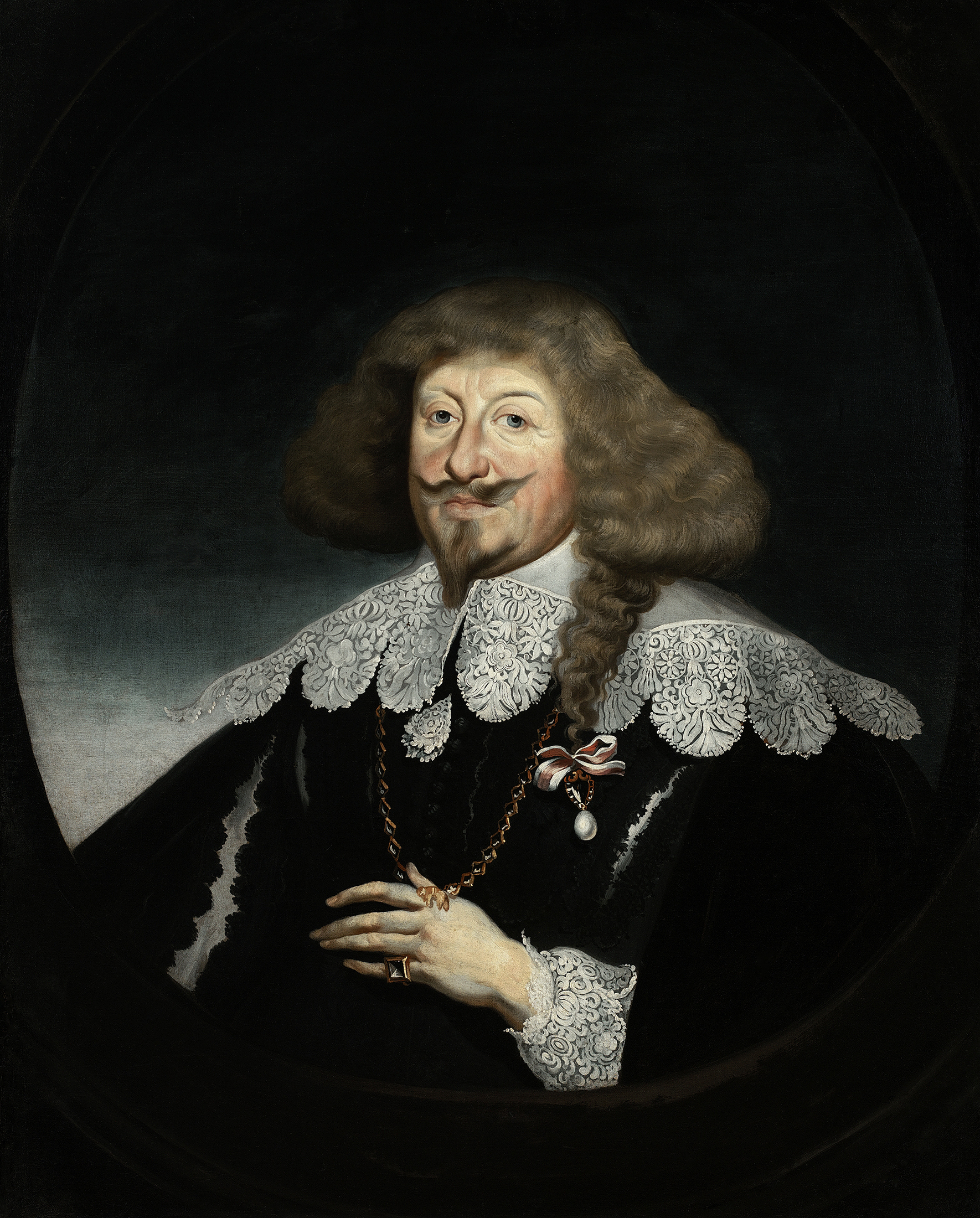 Portrait of Władysław IV Vasa (1595-1648), King of Poland and Grand Duke of Lithuania (1632-1648), Tsar and Grand Prince of All Russia (1610-1613), 1639 | Portraits of Kings