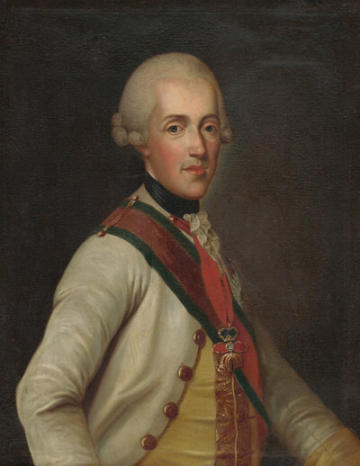 Portrait of Albert Casimir of Saxony (1738-1822), Prince; Duke of Teschen (1766), Governor of Hungary (1765-1781), Governor of the Austrian Netherlands (1781-1793), Reichs-Generalfeldmarschall (1767) | Portraits of Kings