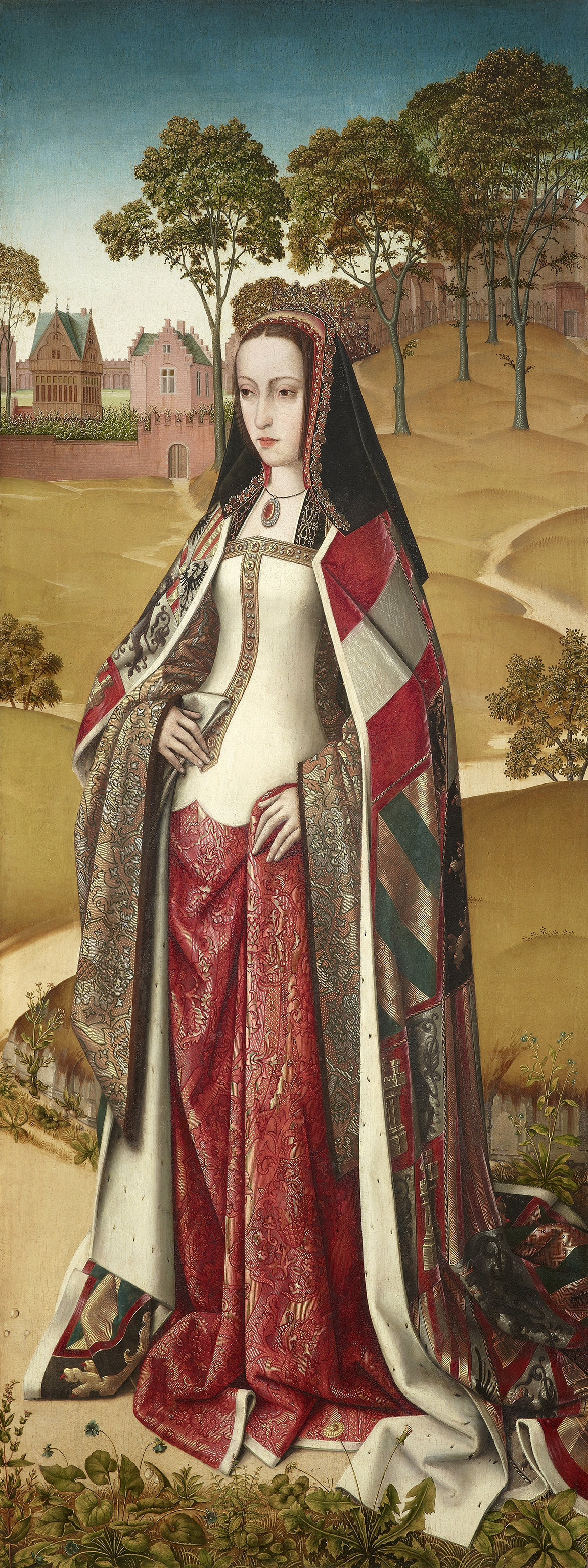 Portrait of Joanna of Castile (1479-1555), Queen of Castile and León (with Philip I) from 1504 to 1506; Consort to the ruler of the Netherlands (1496-1506), Princess of Asturias (1502–1504) | Portraits of Kings