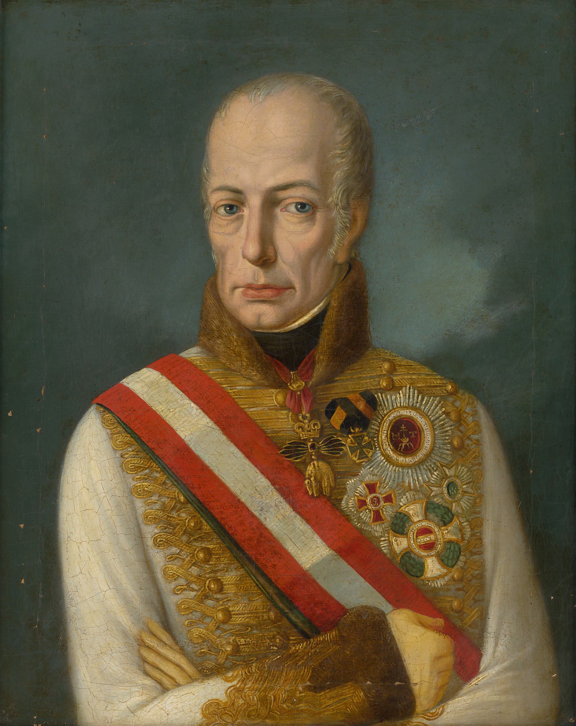 Portrait of Francis I (1768-1835), Emperor of Austria (1804-1835), Holy Roman Emperor (Francis II) from 1792 to 1806; King of Hungary and Bohemia (1792-1835), King of Lombardy-Venetia (1815-1835) | Portraits of Kings