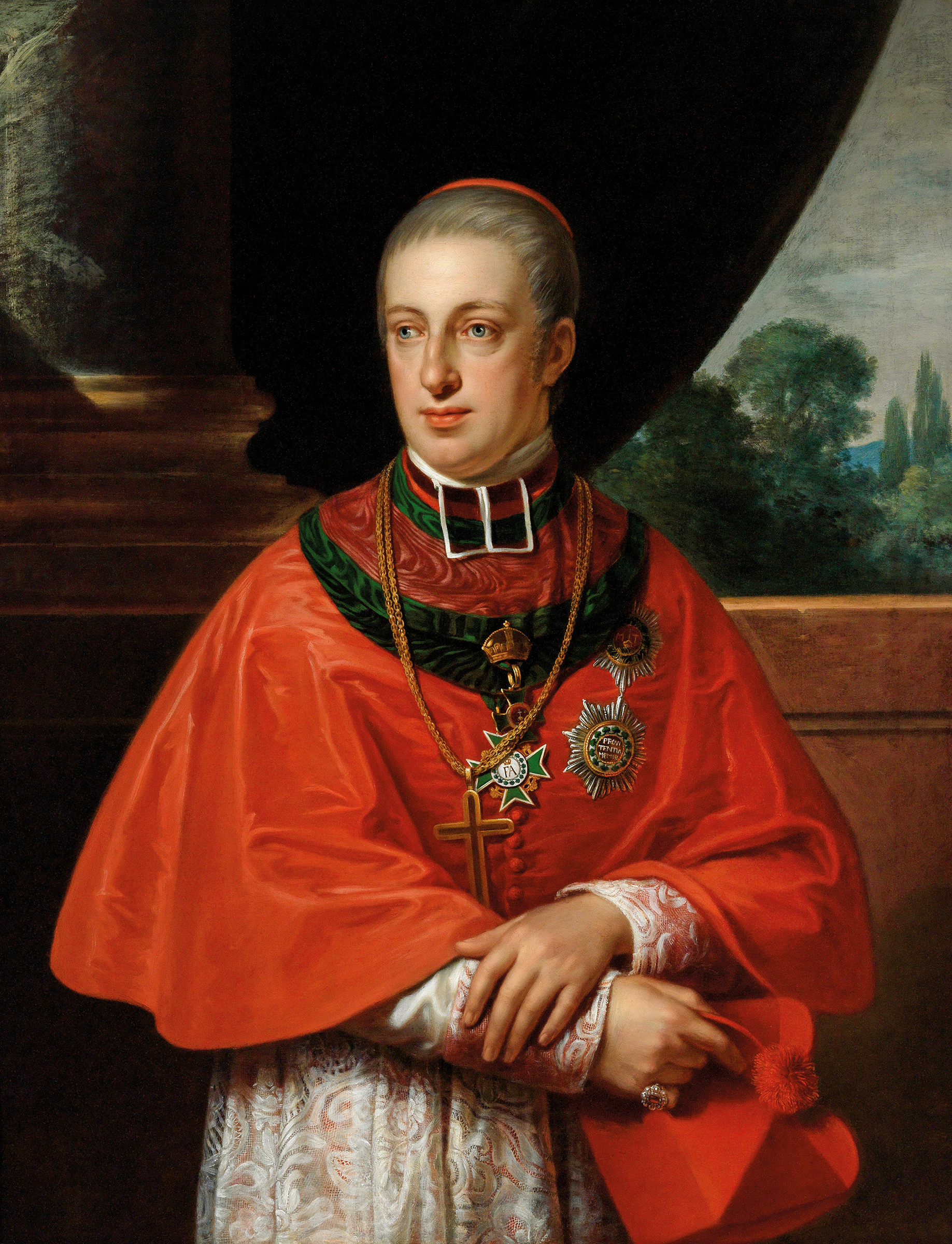 Portrait of Rudolf of Austria (1788-1831), Archduke; Archbishop of Olomouc and Cardinal of the Catholic Church (1819-1831) | Portraits of Kings