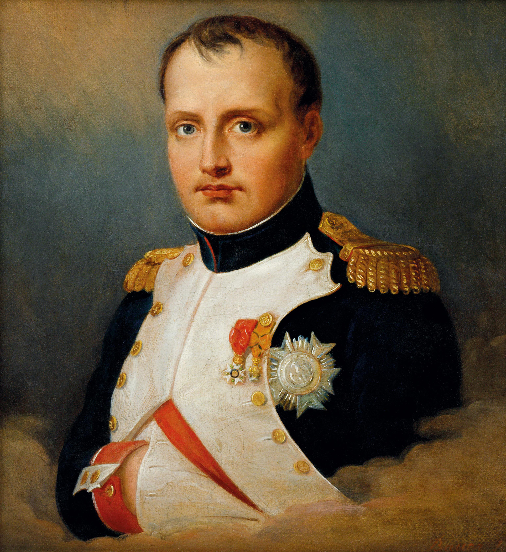 Portrait of Napoléon Bonaparte (1769-1821), Divisional general (1795), First Consul of the French Republic (1799-1804), Emperor of the French (1804-1814; 1815), King of Italy (1805-1814), Mediator of the Swiss Confederation (1803-1813), Protector of the Confederation of the Rhine (1806-1813), Sovereign of the Island of Elba (1814-1815) | Portraits of Kings