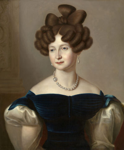 Portrait of Anna Pavlovna of Russia (1795-1865), Princess of Orange (1816-1840), Queen consort of the Netherlands, Grand Duchess consort of Luxembourg (1840-1848) | Portraits of Kings