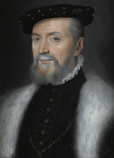 Portrait of Anne de Montmorency (1493-1567), Duc de Montmorency (1551), Marshal of France (1522), Constable of France (1538), Grand Master of France (1526-1558) | Portraits of Kings