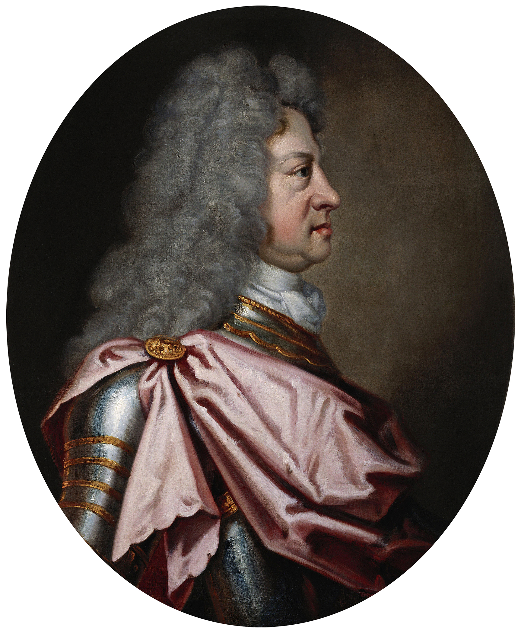 Portrait of George I (1660-1727), King of Great Britain and Ireland (1714-1727), Duke of Brunswick-Lüneburg (Elector of Hanover) from 1698 to 1727, 1715 | Portraits of Kings