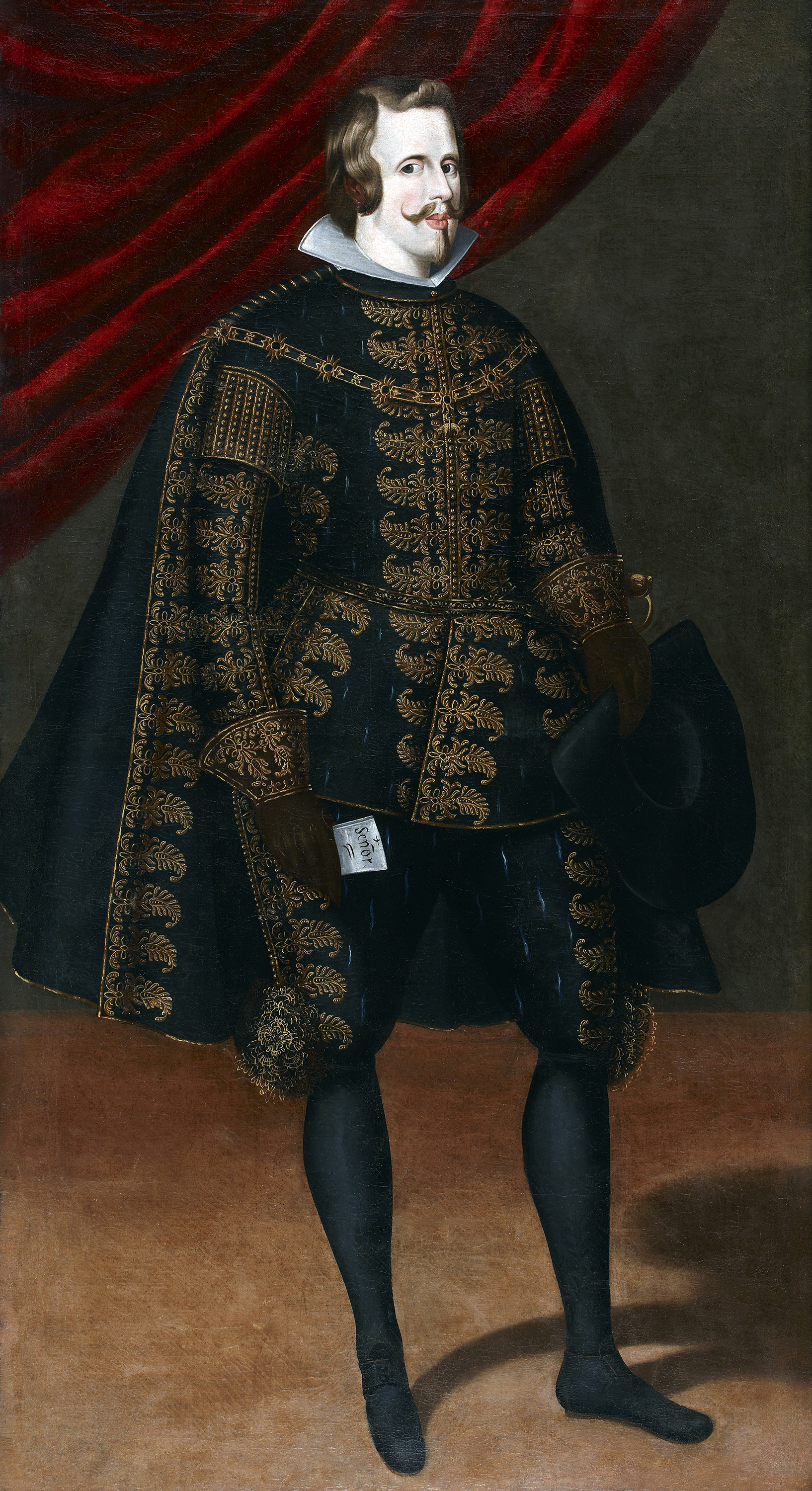 Portrait of Philip IV (1605-1665), King of Spain, Naples, Sicily and Sardinia (1621), King of Portugal (1621-1640), Duke of Milan, Lothier, Brabant, Limburg and Luxemburg; Count Palatine of Burgundy; Count of Flanders, Hainaut and Namur (1621) | Portraits of Kings