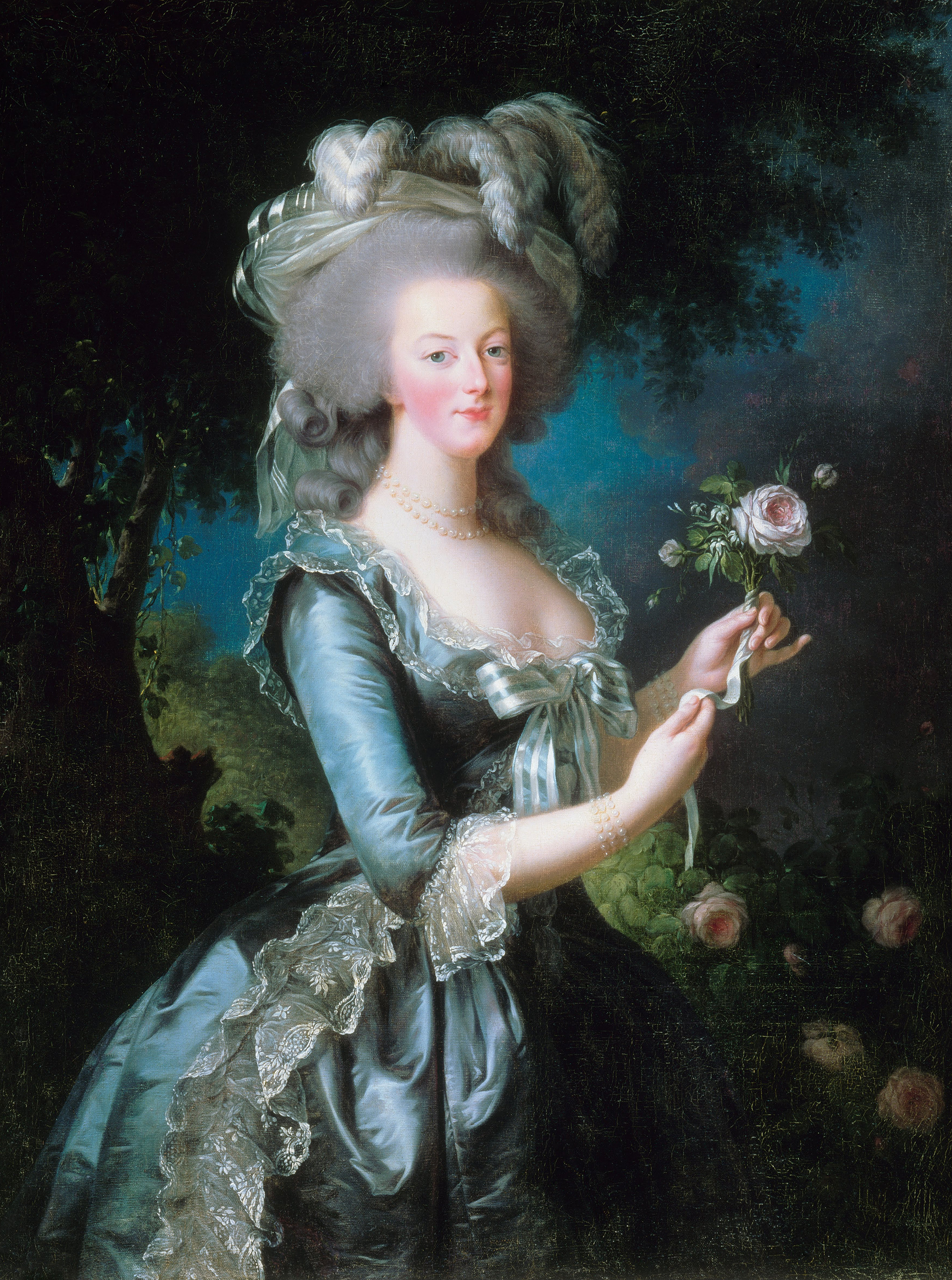 Portrait of Marie Antoinette (1755-1793), Queen consort of France (1774-1791), Queen consort of the French (1791-1792), Dauphine of France (1770-1774), 1783 | Portraits of Kings