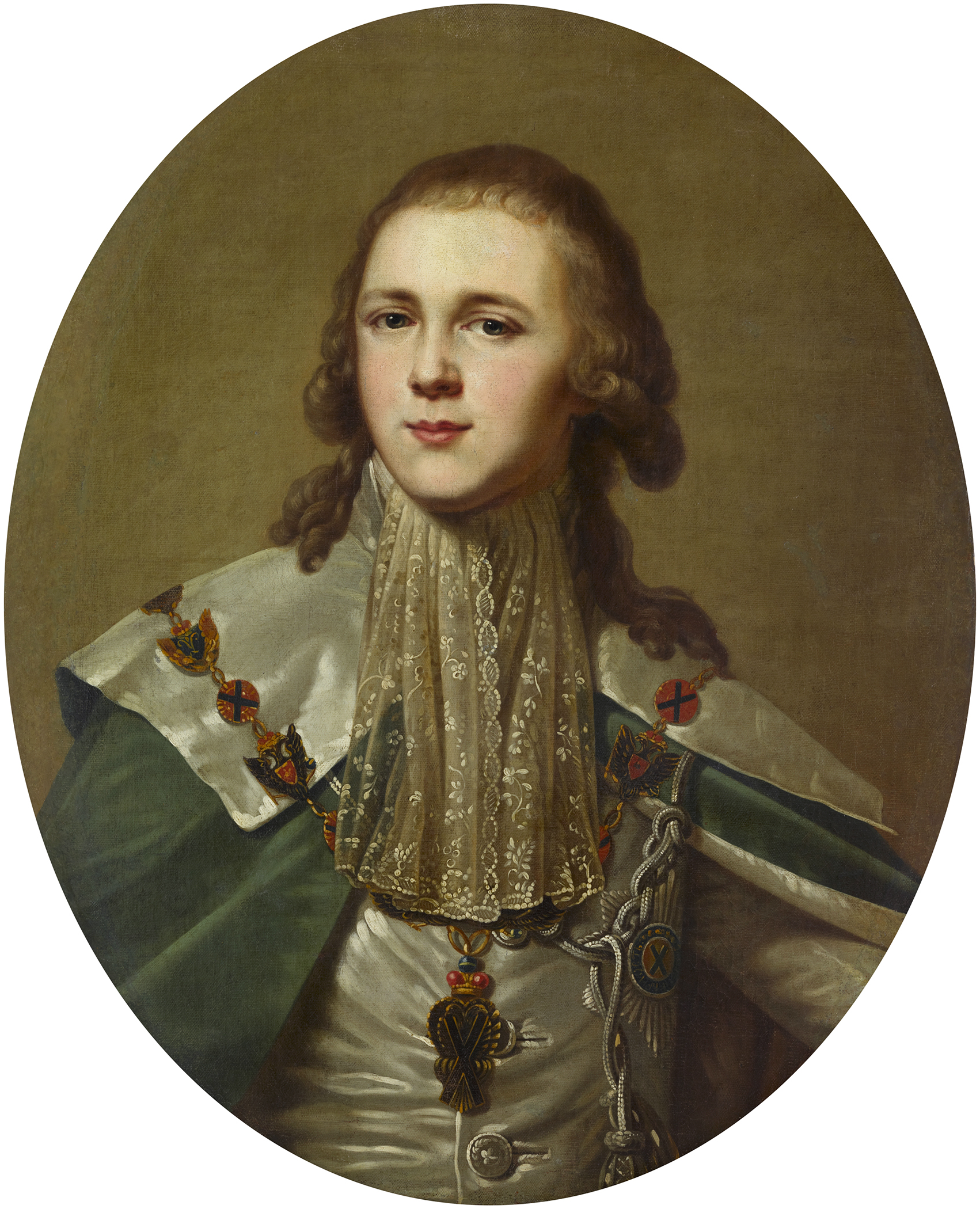 Portrait of Alexander Pavlovich (1777-1825), Grand Duke and Heir to the throne of Russia (1796-1801),  Emperor of Russia (Alexander I) from 1801 to 1825; Grand Duke of Finland (1809-1825), King of Poland (1815-1825) | Portraits of Kings