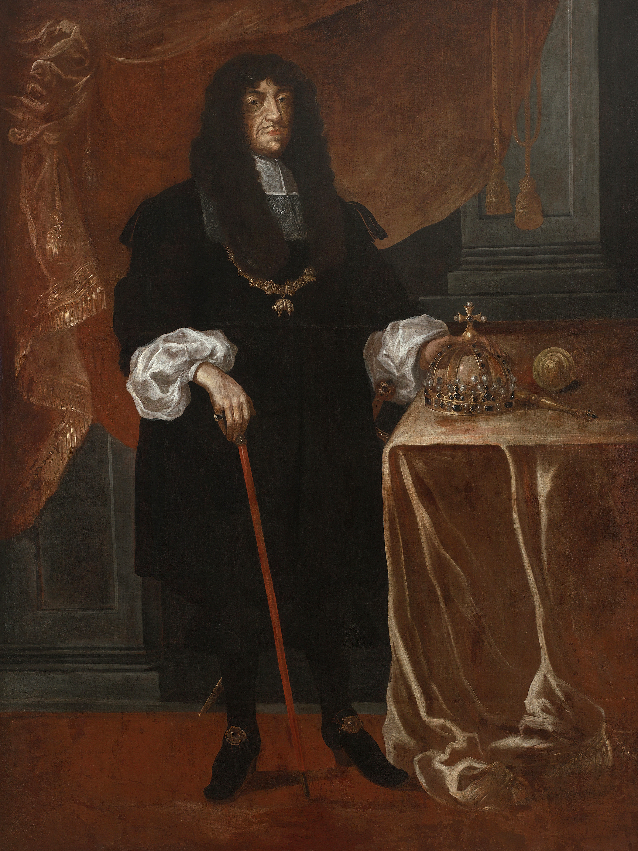 Portrait of John II Casimir Vasa (1609-1672), King of Poland and Grand Duke of Lithuania (1648-1668), 1668 | Portraits of Kings
