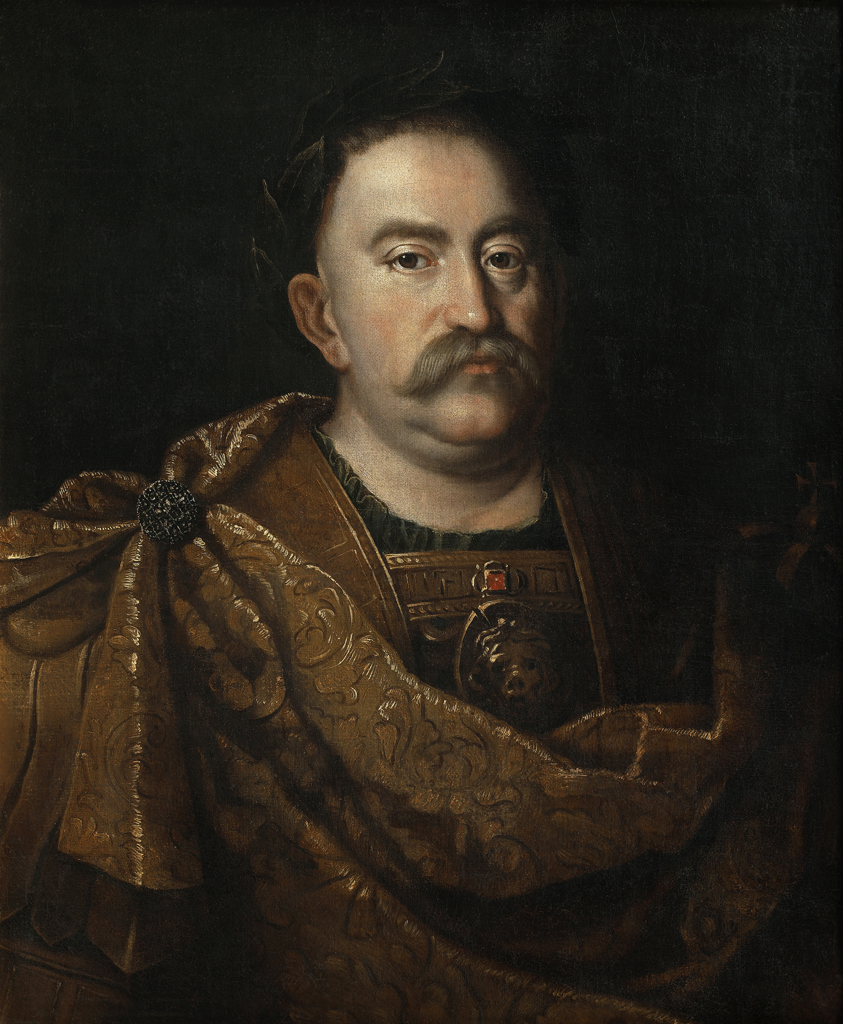 Portrait of John III Sobieski (1629-1696), King of Poland and Grand Duke of Lithuania (1674-1696), Great Crown Hetman of Poland (Hetman wielki koronny) from 1668-1676), 1683 | Portraits of Kings