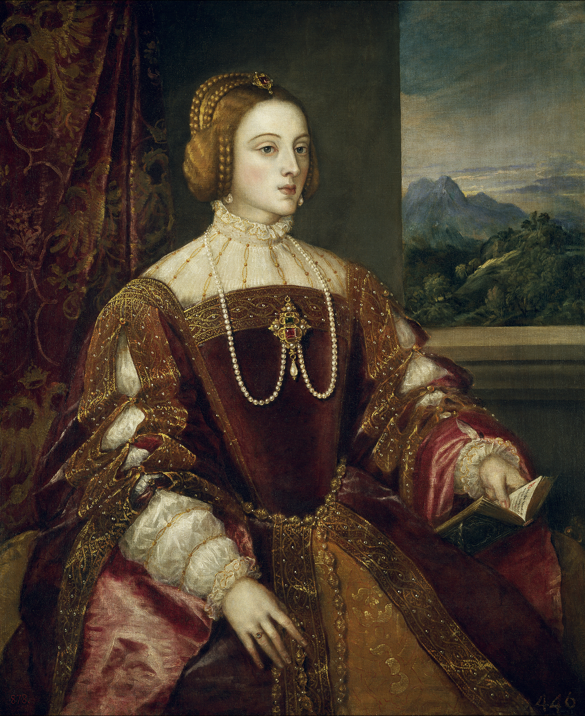 Portrait of Isabella of Portugal (1503-1539), Queen consort of Spain, Holy Roman Empress (1526-1539) | Portraits of Kings