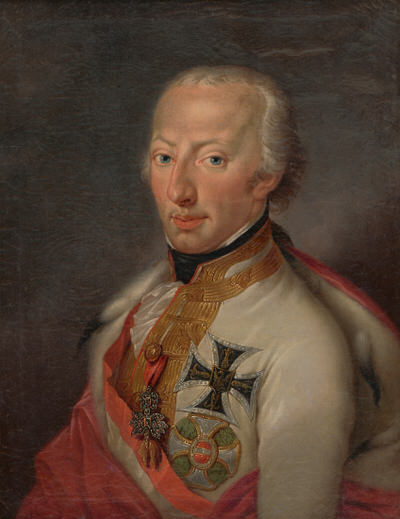 Portrait of Anton Victor of Austria (1779-1835), Archduke of Austria; Duke of Westphalia, Prince-Bishop of Münster, Archbishop and Elector of Cologne (1801-1803), Grand Master of the Teutonic Order (1804), Viceroy of the Kingdom of Lombardy–Venetia (1816-1818) | Portraits of Kings