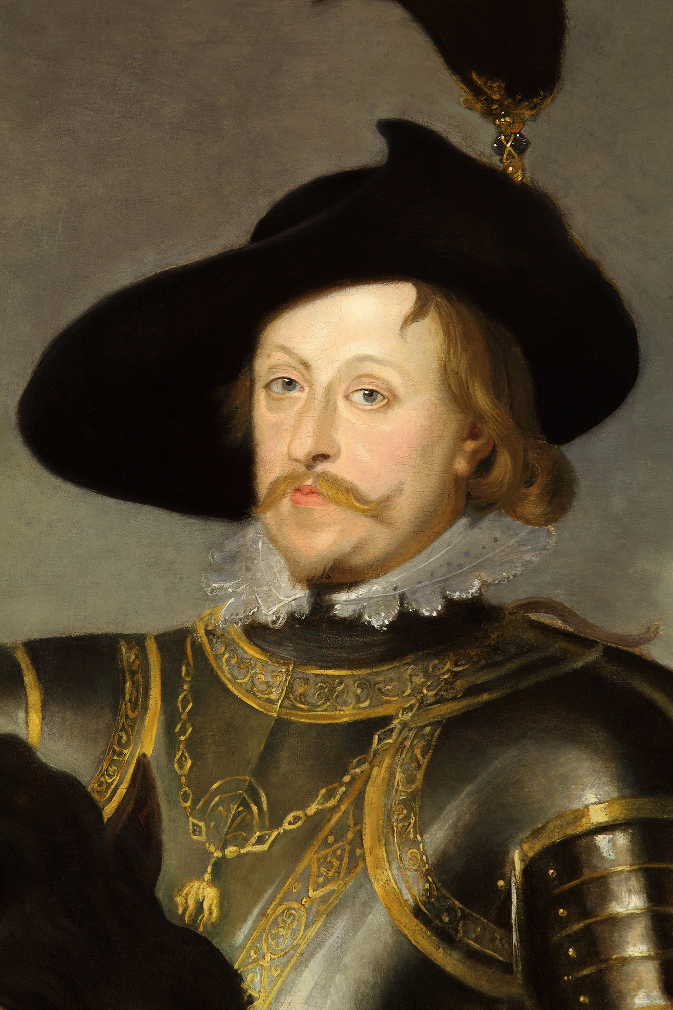 Portrait of Władysław IV Vasa (1595-1648), King of Poland and Grand Duke of Lithuania (1632-1648), Tsar and Grand Prince of All Russia (1610-1613), 1625 | Portraits of Kings