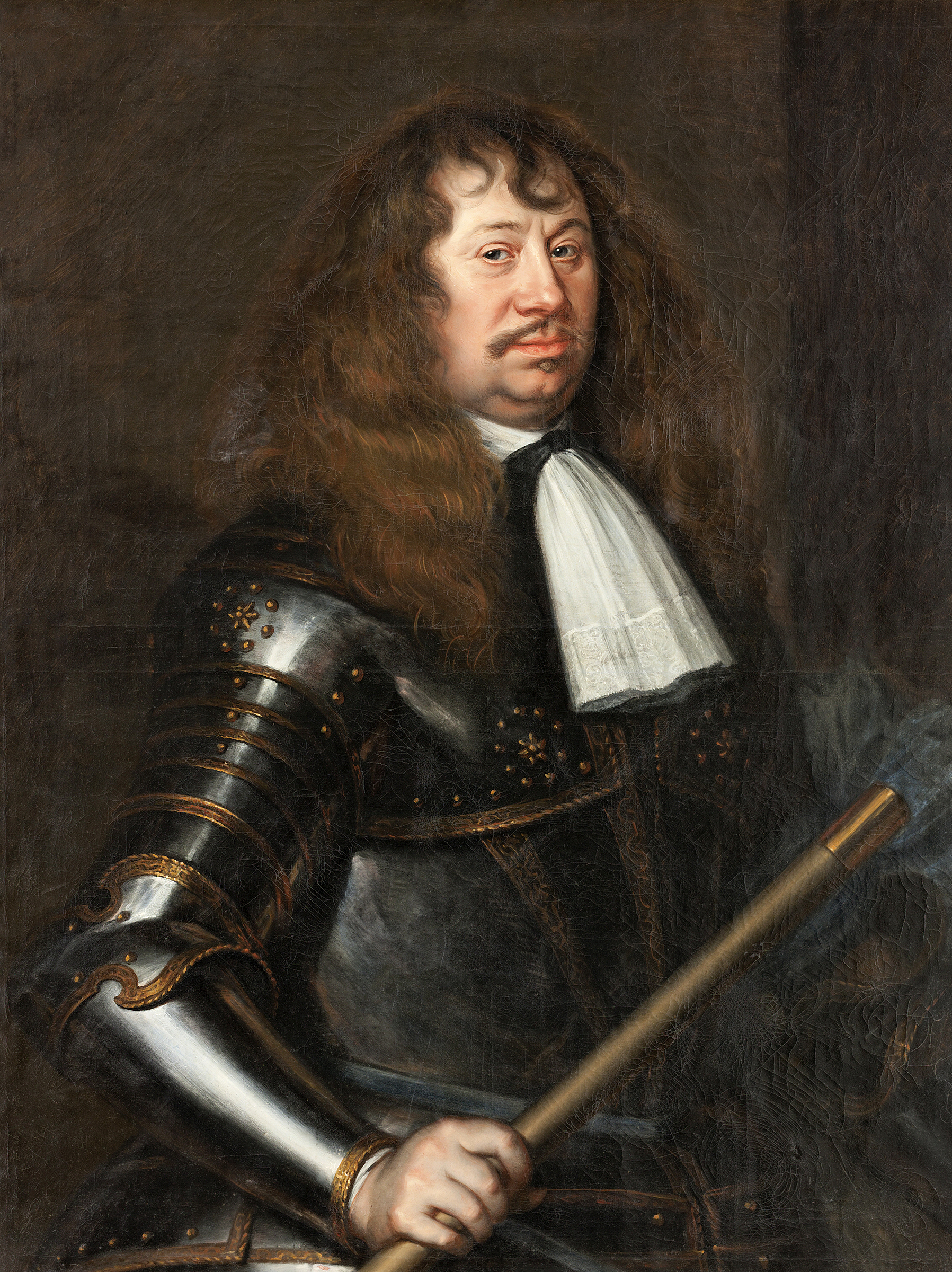 Portrait of Carl Gustaf Wrangel (1613-1676), Count; Field Marshal of the Army of Sweden (1646), Commander-in-chief of the Swedish forces in Germany (1646-1648), Gouvernor-general of Swedish Pomerania (1648-1650; 1654-1676), Lord High Admiral of Sweden (1657-1676), Lord High Constable of Sweden (1664-1676) | Portraits of Kings