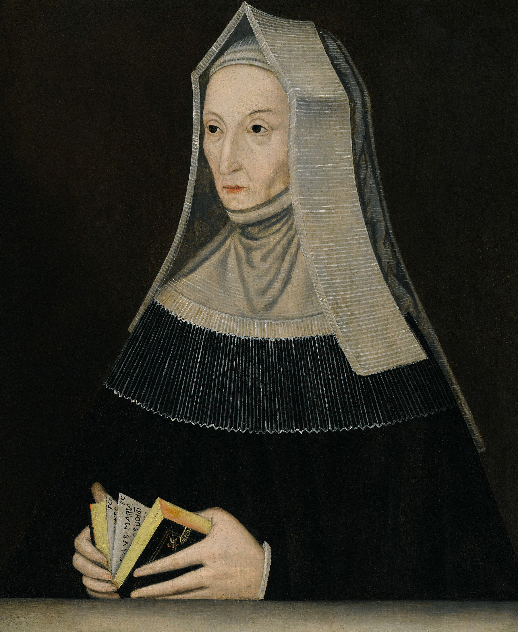 Portrait of Margaret Beaufort (1441/1443-1509), Countess of Richmond and Derby (1485), the mother of King Henry VII (1485-1509) | Portraits of Kings