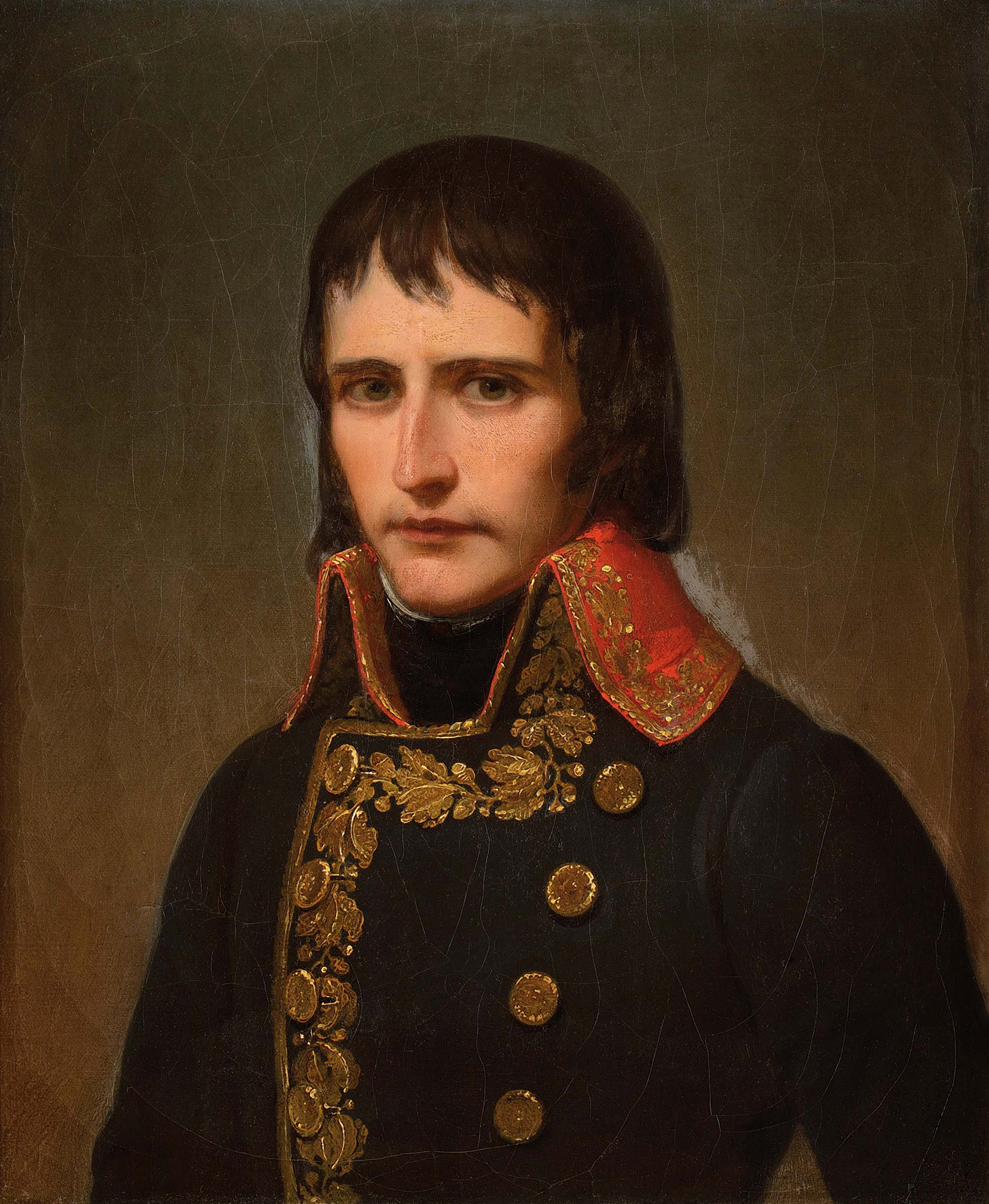 Portrait of Napoléon Bonaparte (1769-1821), Divisional general (1795), First Consul of the French Republic (1799-1804), Emperor of the French (1804-1814; 1815), King of Italy (1805-1814), Mediator of the Swiss Confederation (1803-1813), Protector of the Confederation of the Rhine (1806-1813), Sovereign of the Island of Elba (1814-1815), 1798 | Portraits of Kings