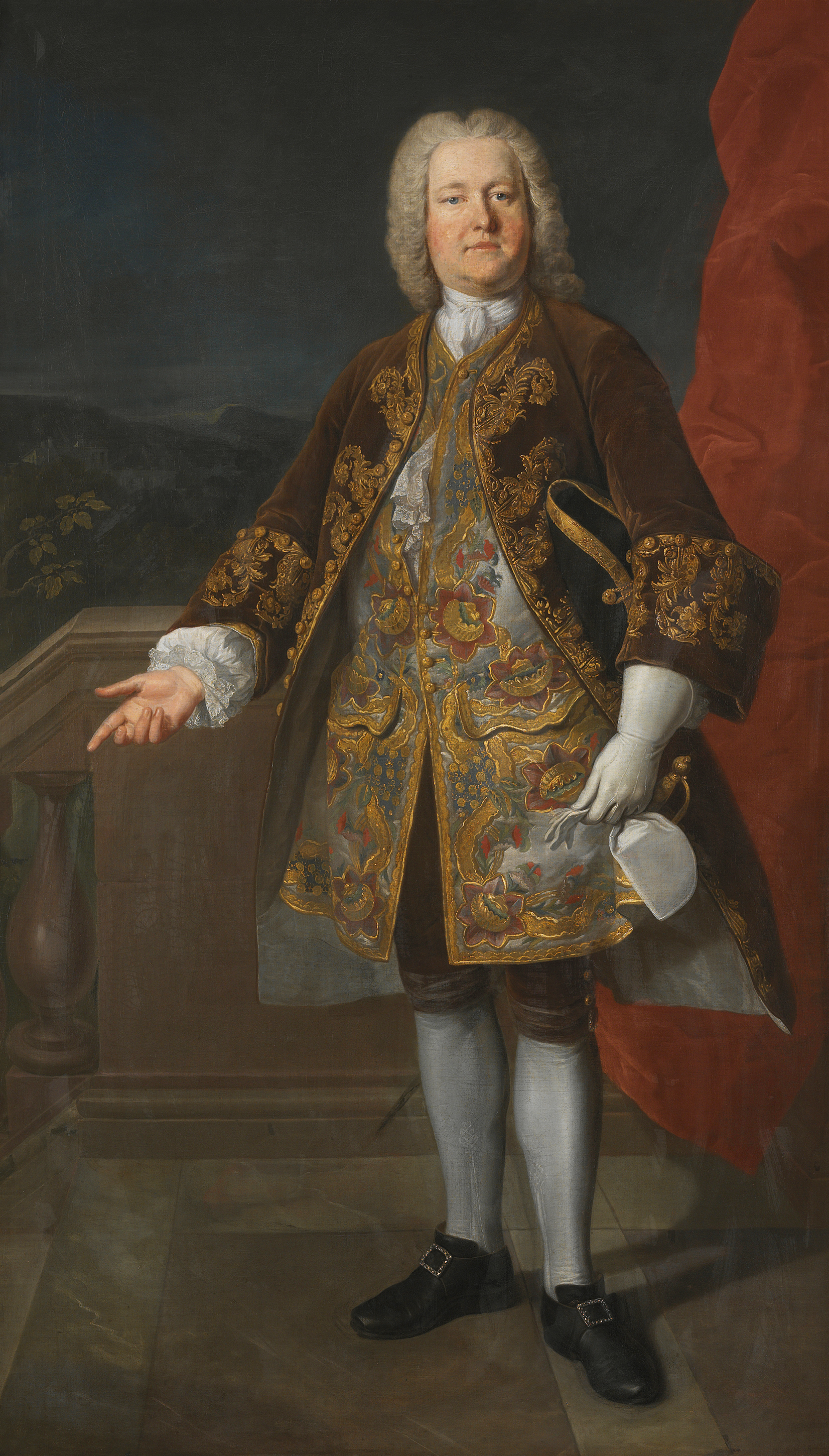 Portrait of Carl Gustaf Tessin (1695-1770), Count; President of the chancellery (Swedish prime minister) from 1746 to 1752 | Portraits of Kings