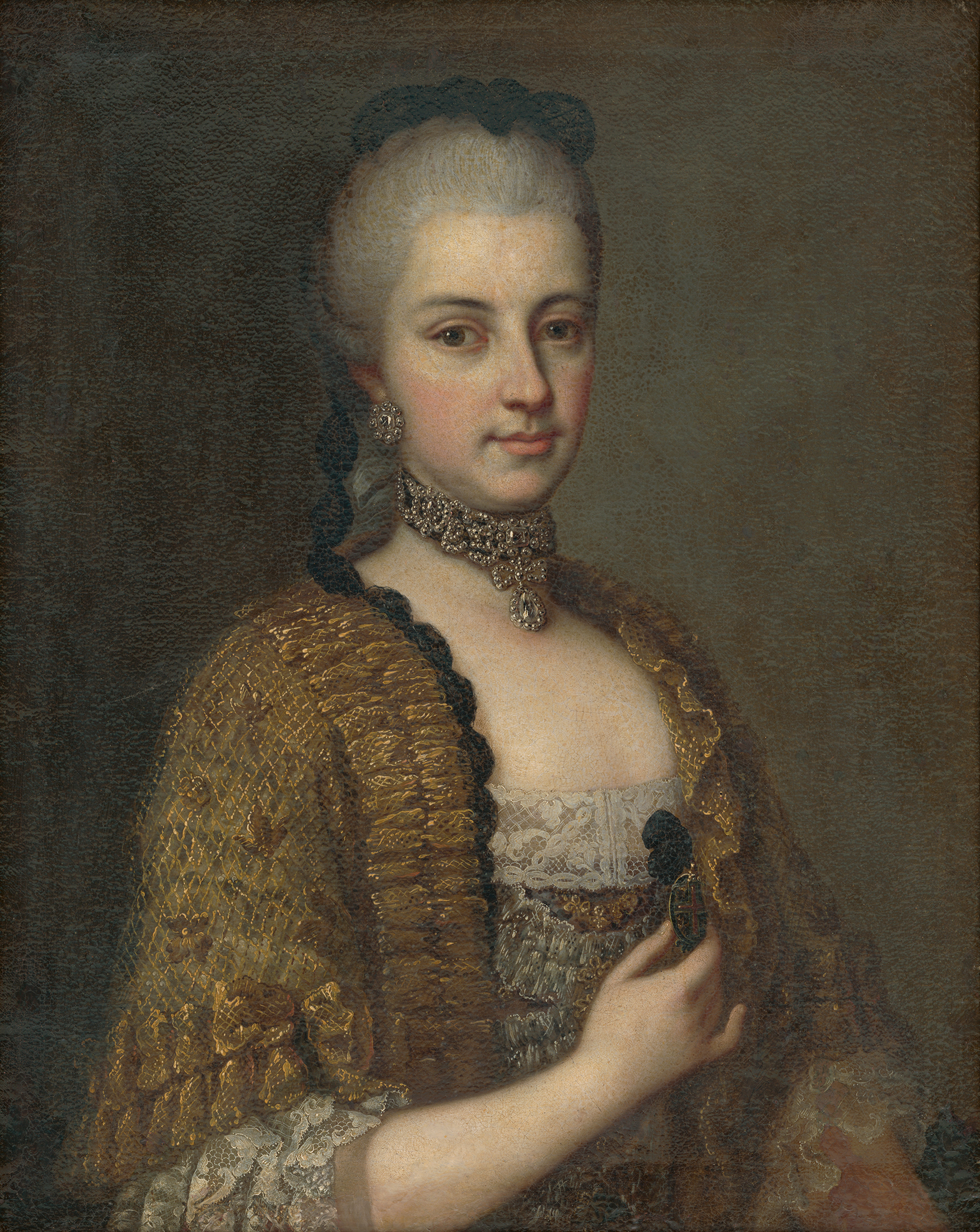 Portrait of Maria Christina of Austria (1742-1798), Archduchess; Duchess of Teschen (1766), Governor of the Austrian Netherlands (1781-1793) | Portraits of Kings