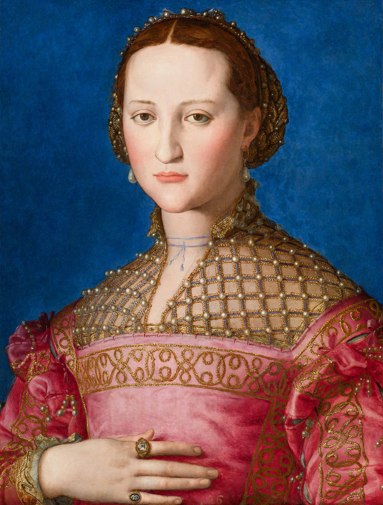 Portrait of Eleanor of Toledo (1522-1562), Duchess consort of Florence (1539-1562), 1543 | Portraits of Kings