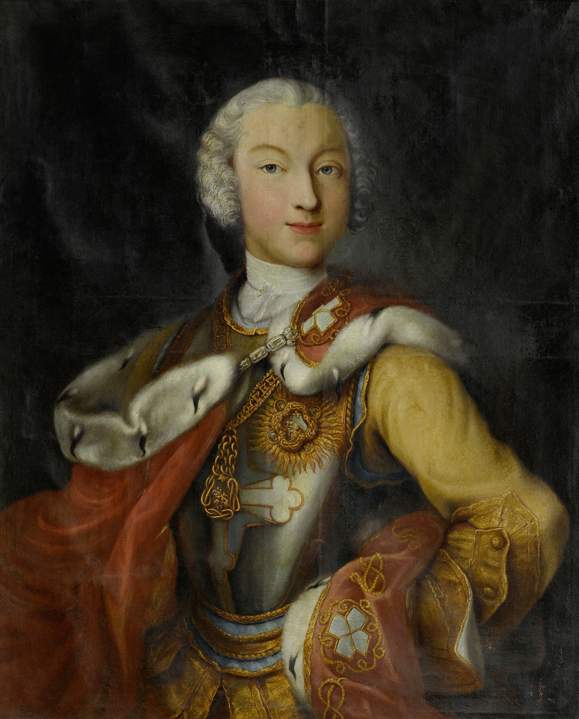 Portrait of Charles Emmanuel III (1701-1773), King of Sardinia and Duke of Savoy (1730-1773), 1729 | Portraits of Kings