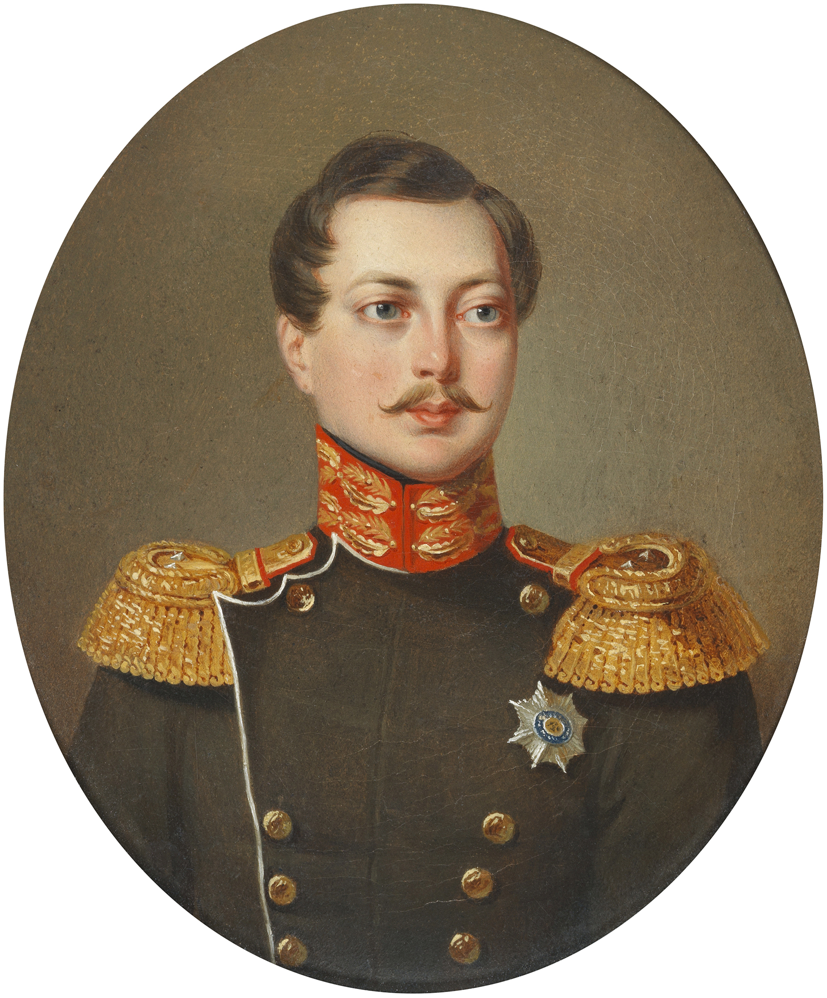 Portrait of Alexander Nikolaevich (1818-1881), Tsesarevich and Grand Duke, heir apparent of Imperial Russia (1825-1855), Emperor of Russia, Grand Duke of Finland (Alexander II) from 1855 to 1881 | Portraits of Kings