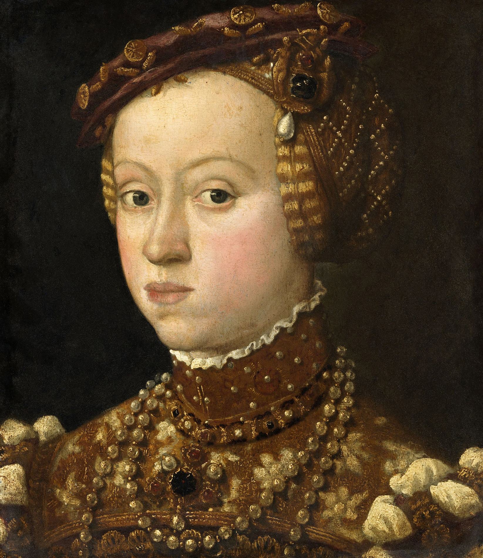 Portrait of Anna of Austria (1528-1590), Duchess consort of Bavaria (1550-1579) | Portraits of Kings