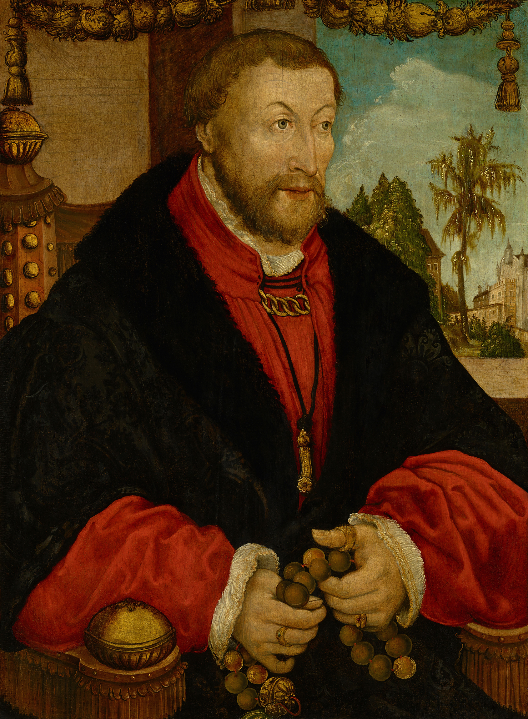 Portrait of Wolfgang of the Palatinate (1494-1558), Count Palatine of Neumarkt (1524). Governor of the Upper Palatinate (1544), 1525 | Portraits of Kings